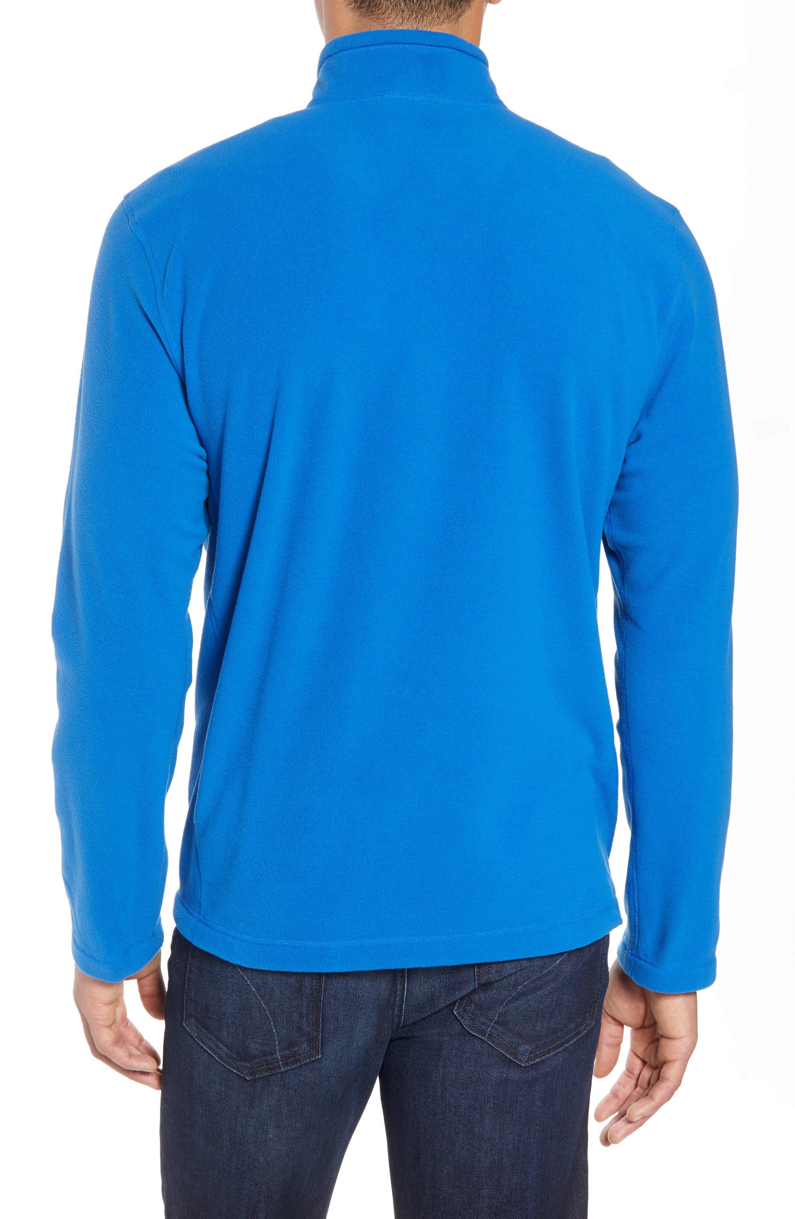 'TKA 100 Glacier' Quarter Zip Fleece Pullover,                             Alternate thumbnail 55, color,