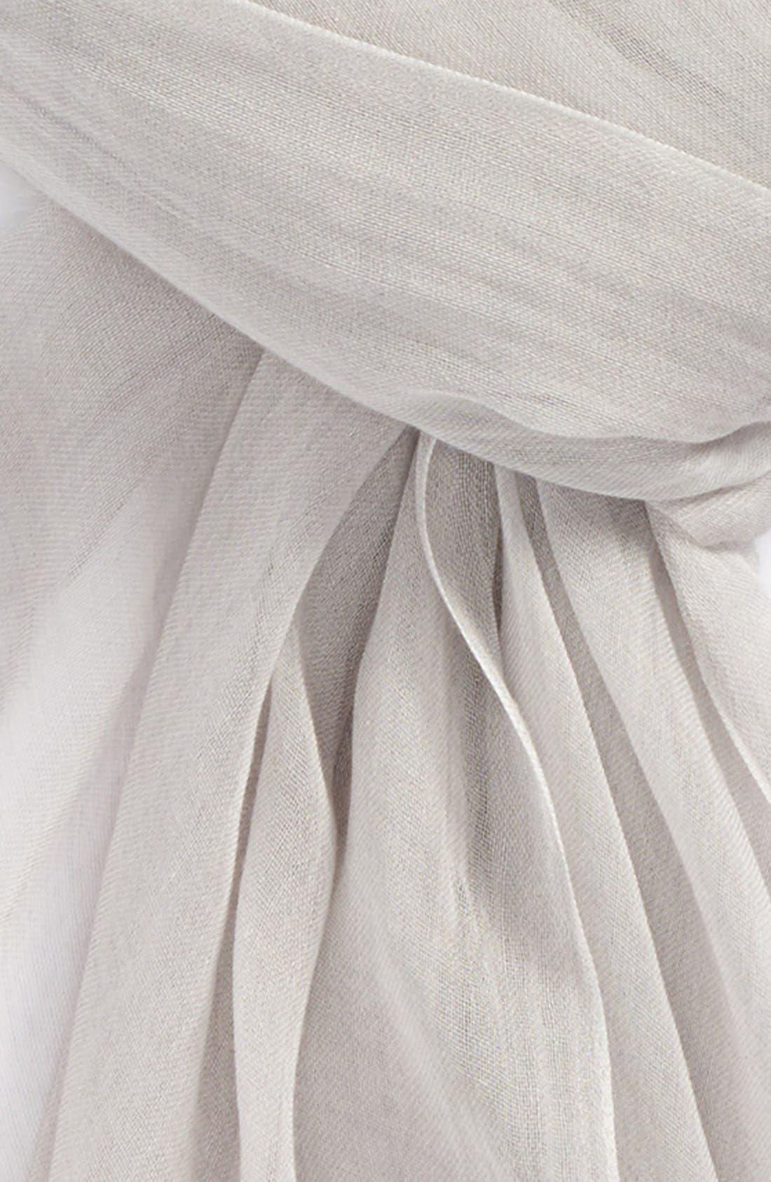 Modal Silk Blend Scarf,                             Alternate thumbnail 46, color,