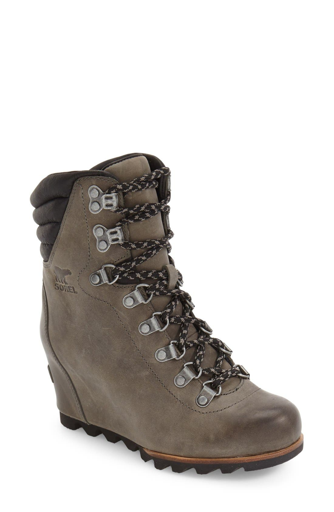 'Conquest' Waterproof Wedge Boot,                             Main thumbnail 3, color,
