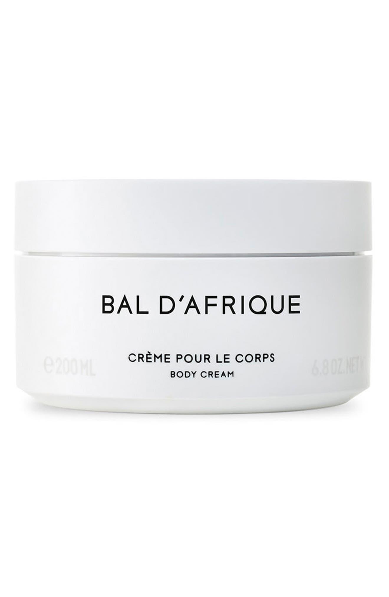 Bal d'Afrique Body Cream,                             Main thumbnail 1, color,                             NO COLOR