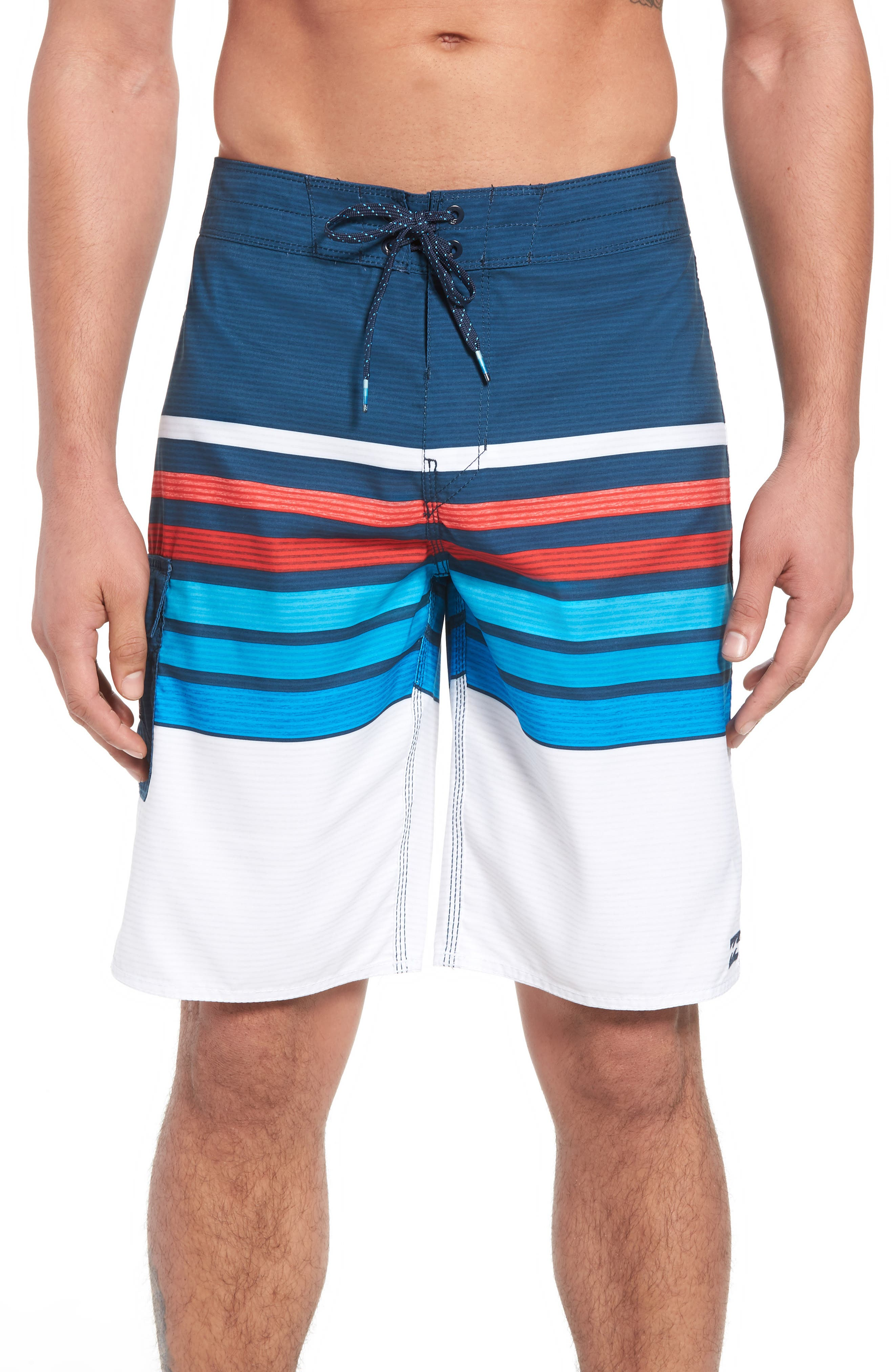 All Day OG Stripe Board Shorts,                             Main thumbnail 2, color,