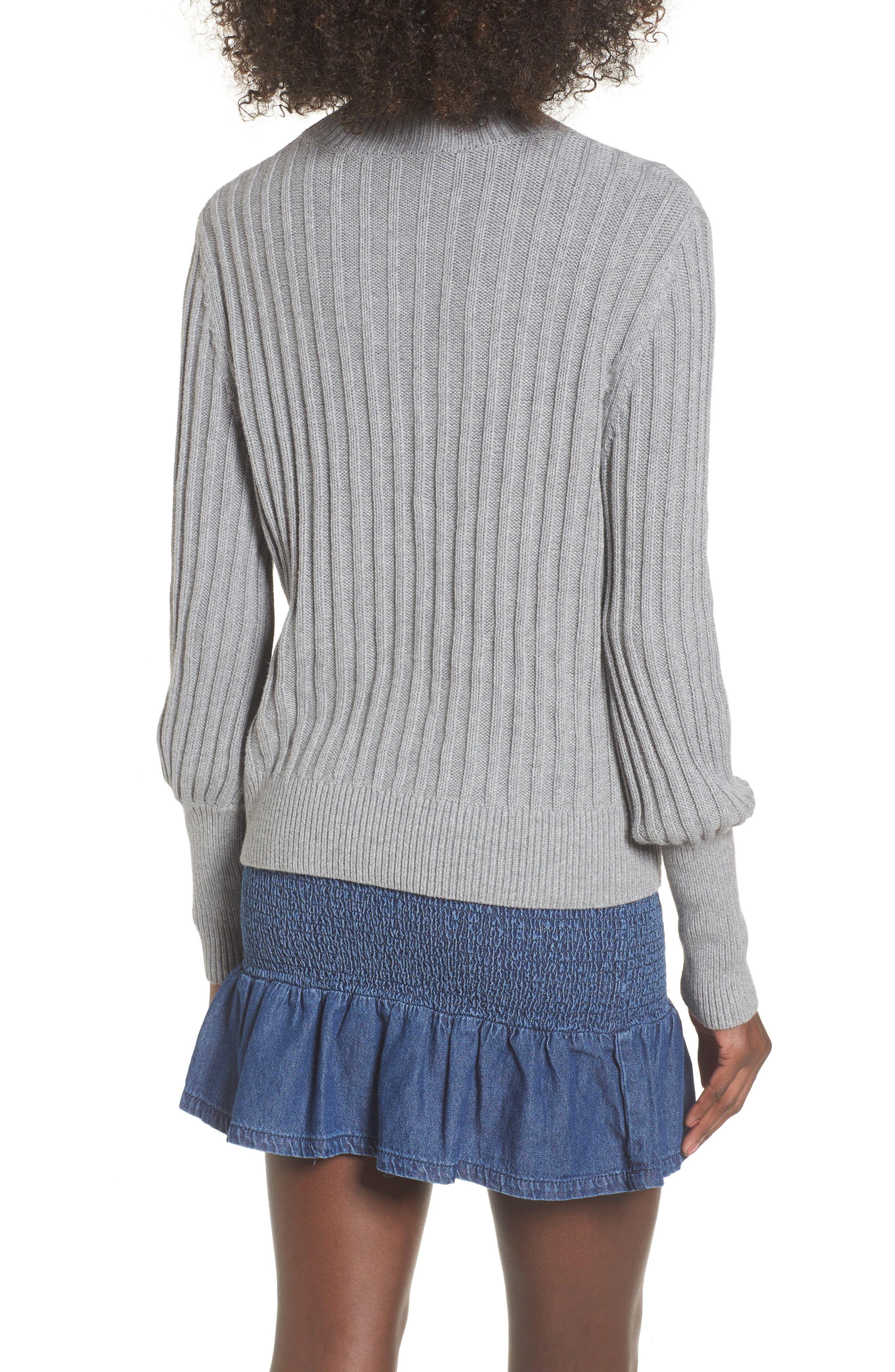 Galactic Puff Sleeve Sweater,                             Alternate thumbnail 2, color,                             051