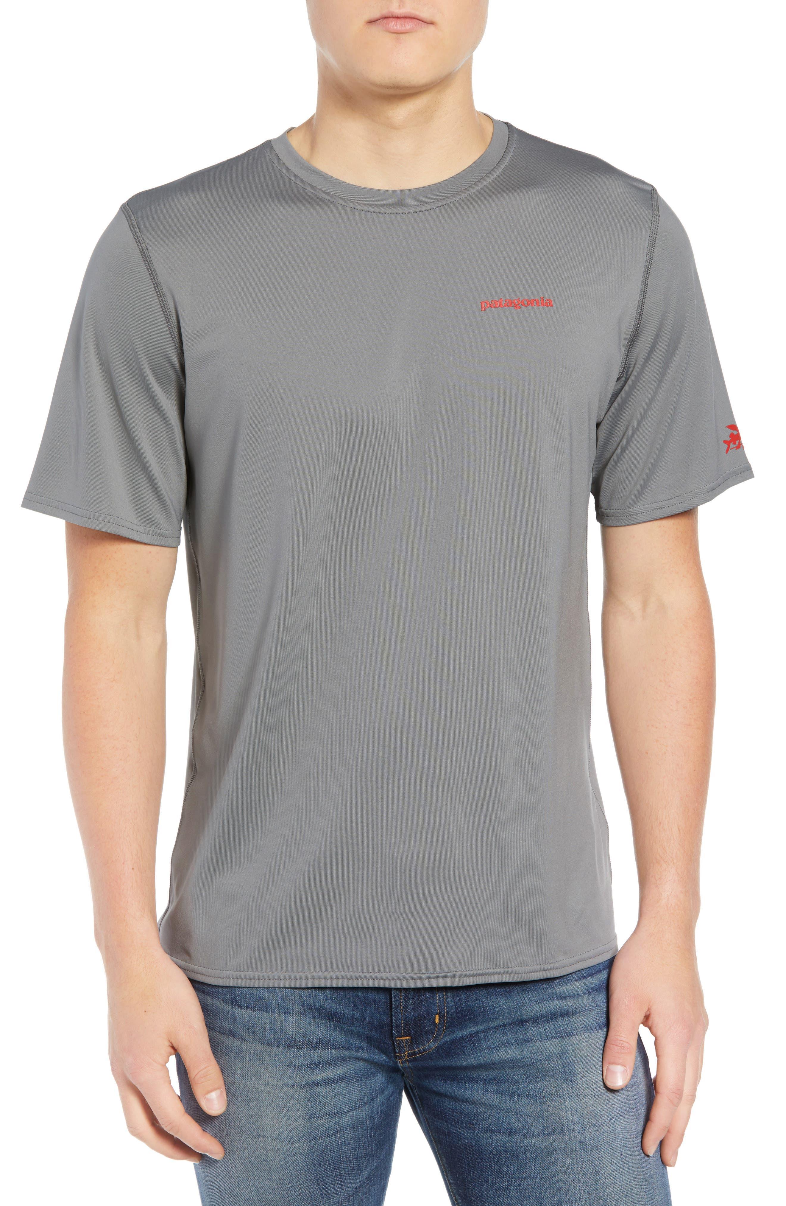 RØ<sup>®</sup> Sun T-Shirt,                             Main thumbnail 1, color,                             FEATHER GREY