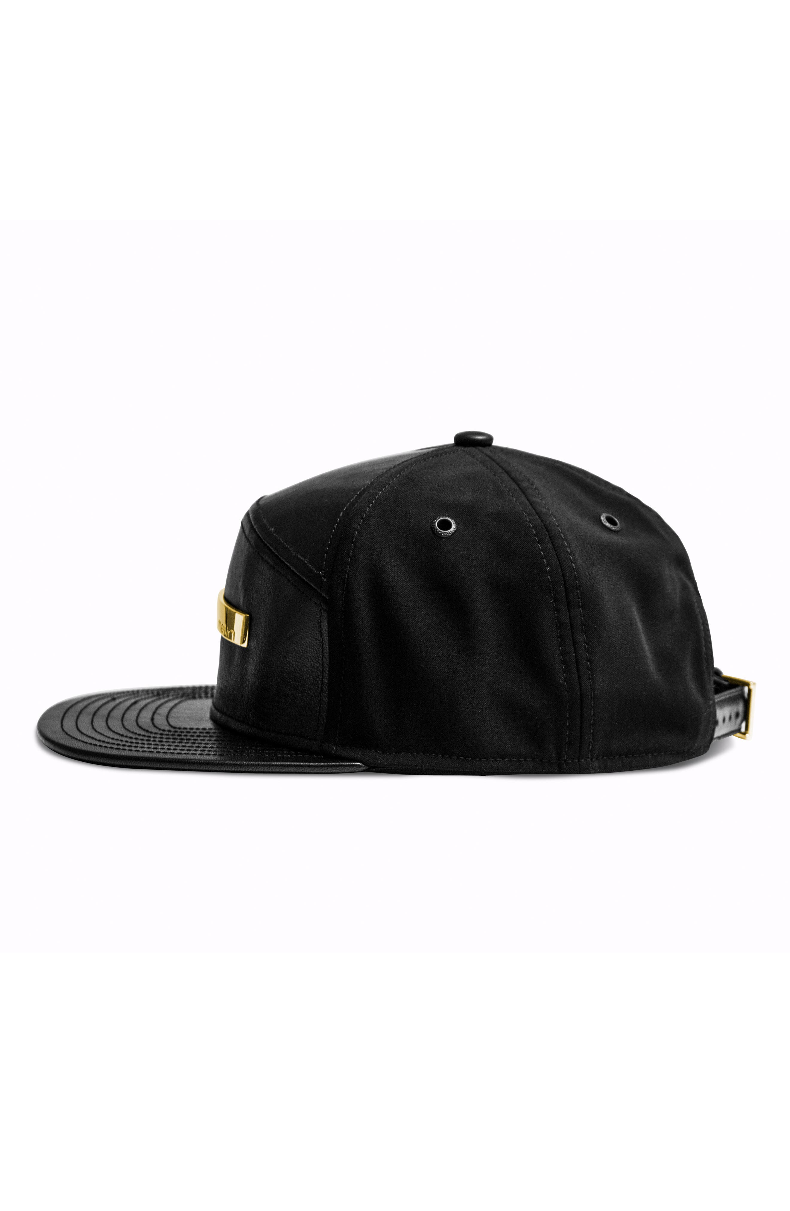 The Bar Baseball Cap,                             Alternate thumbnail 6, color,                             BLACK GOLD