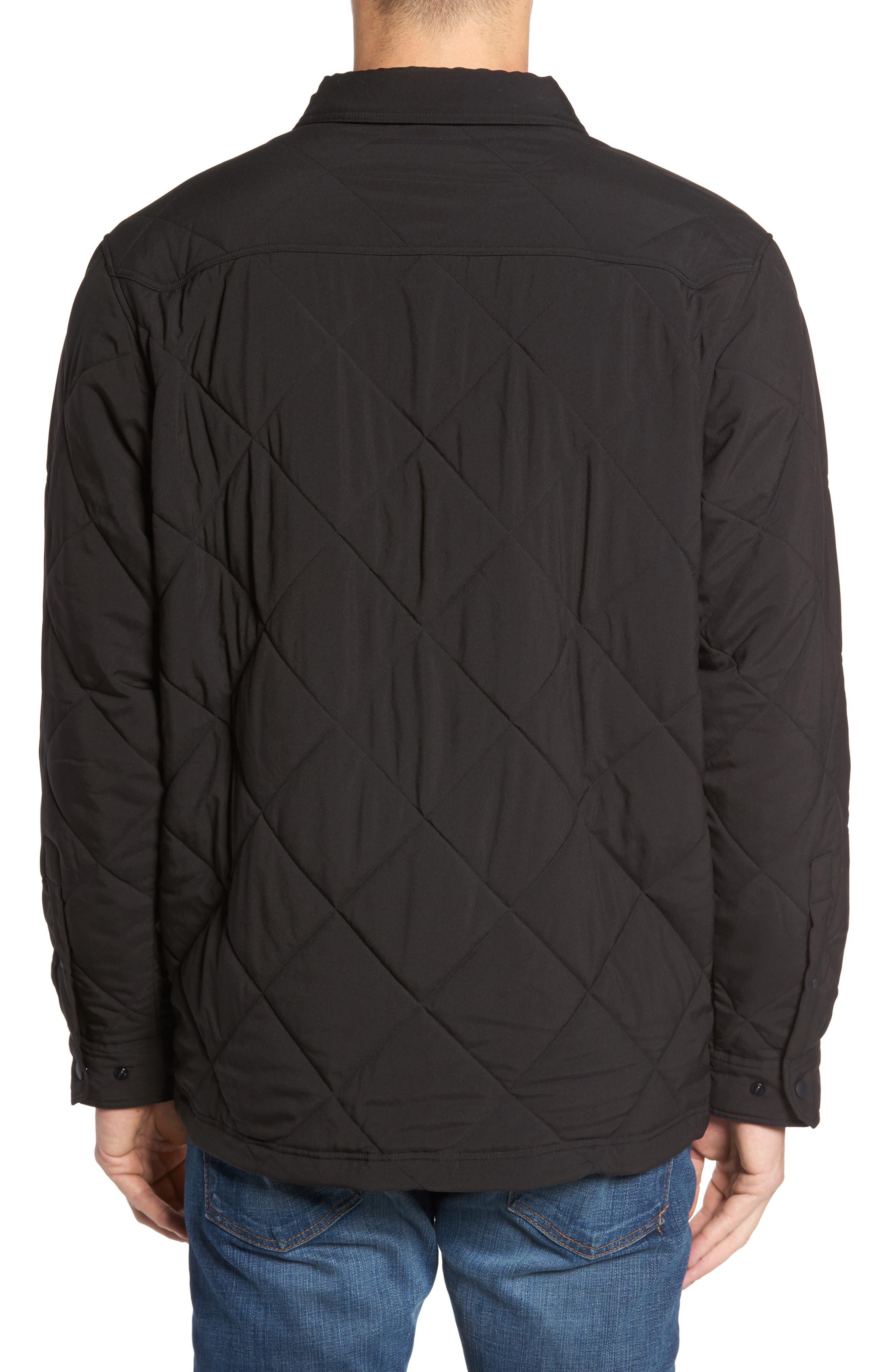 Tough Puff Shirt Jacket,                             Alternate thumbnail 2, color,                             001