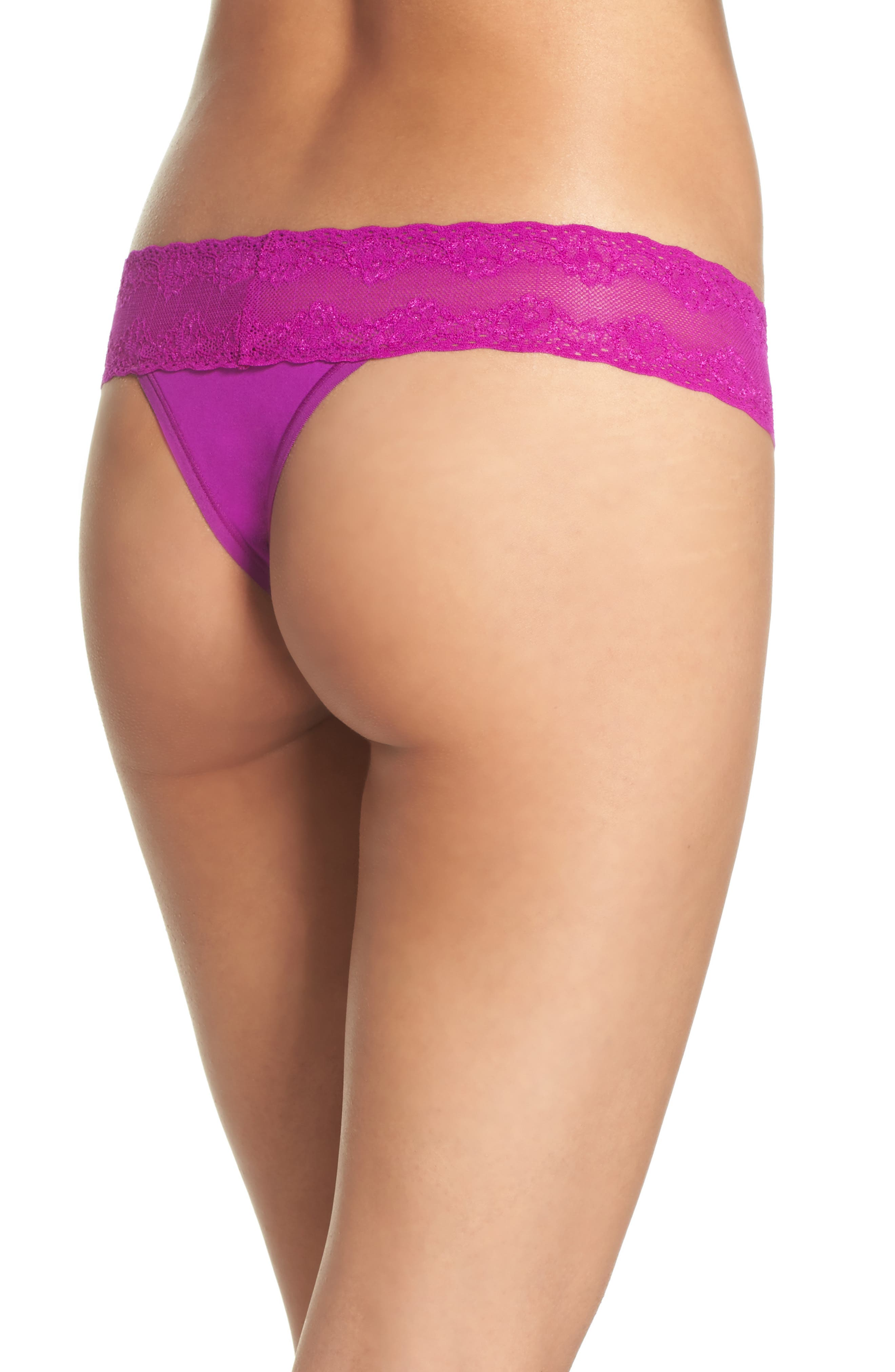 Bliss Perfection Thong,                             Alternate thumbnail 119, color,
