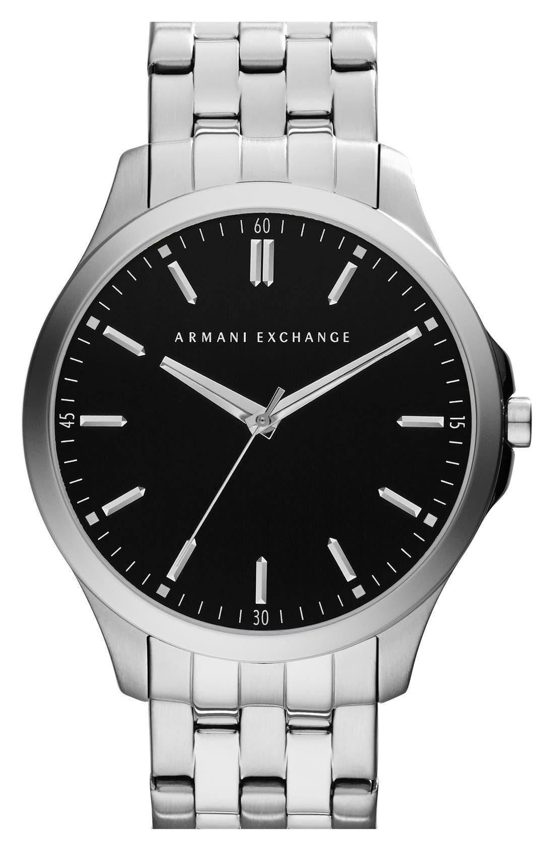 Round Bracelet Watch, 45mm,                             Main thumbnail 4, color,