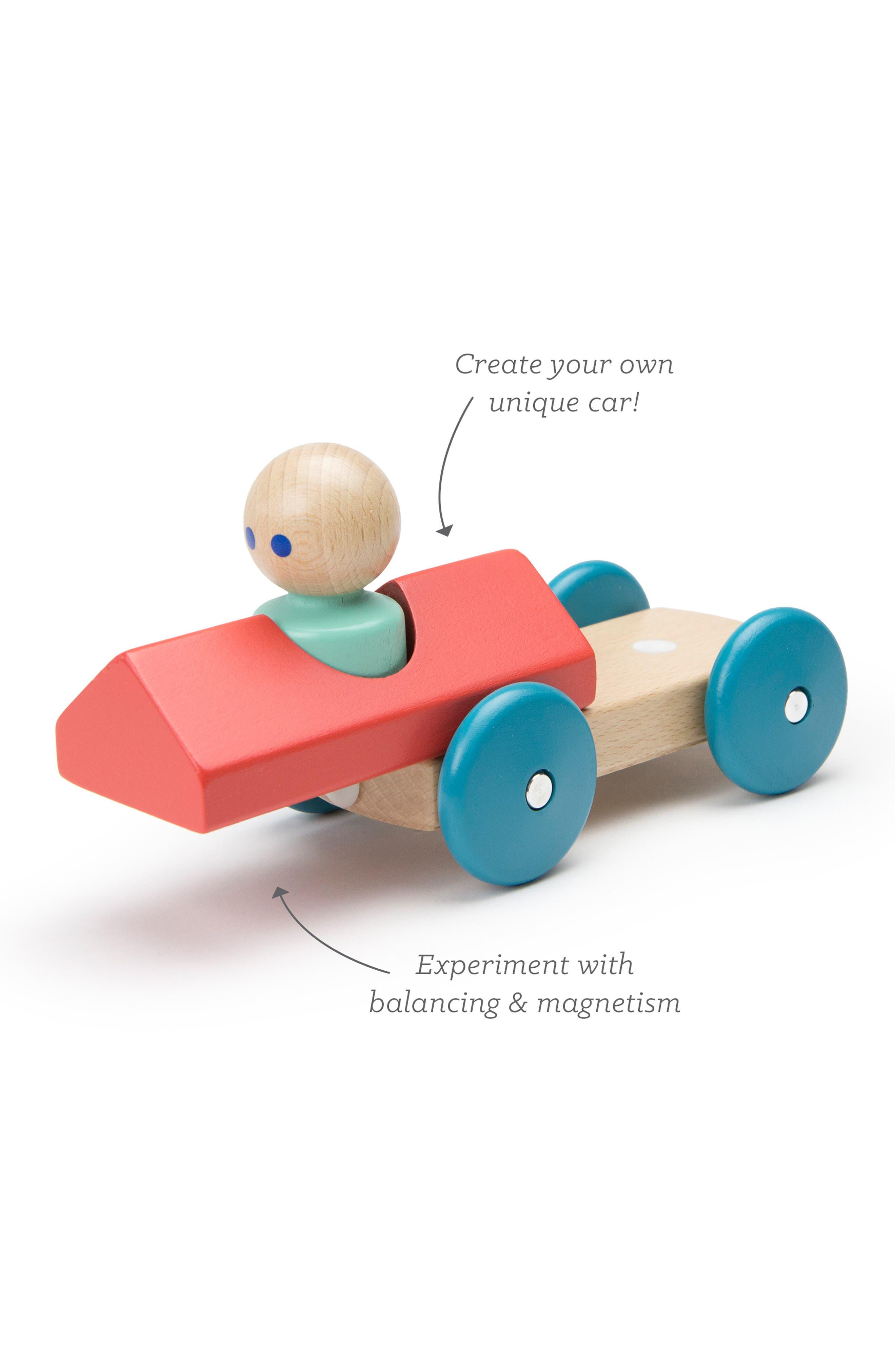 Barn Magnetic Racer Toy,                             Alternate thumbnail 6, color,                             RAINBOW