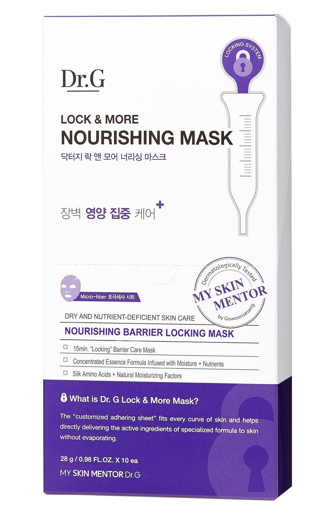 Lock & More Nourishing Mask,                             Alternate thumbnail 4, color,                             000