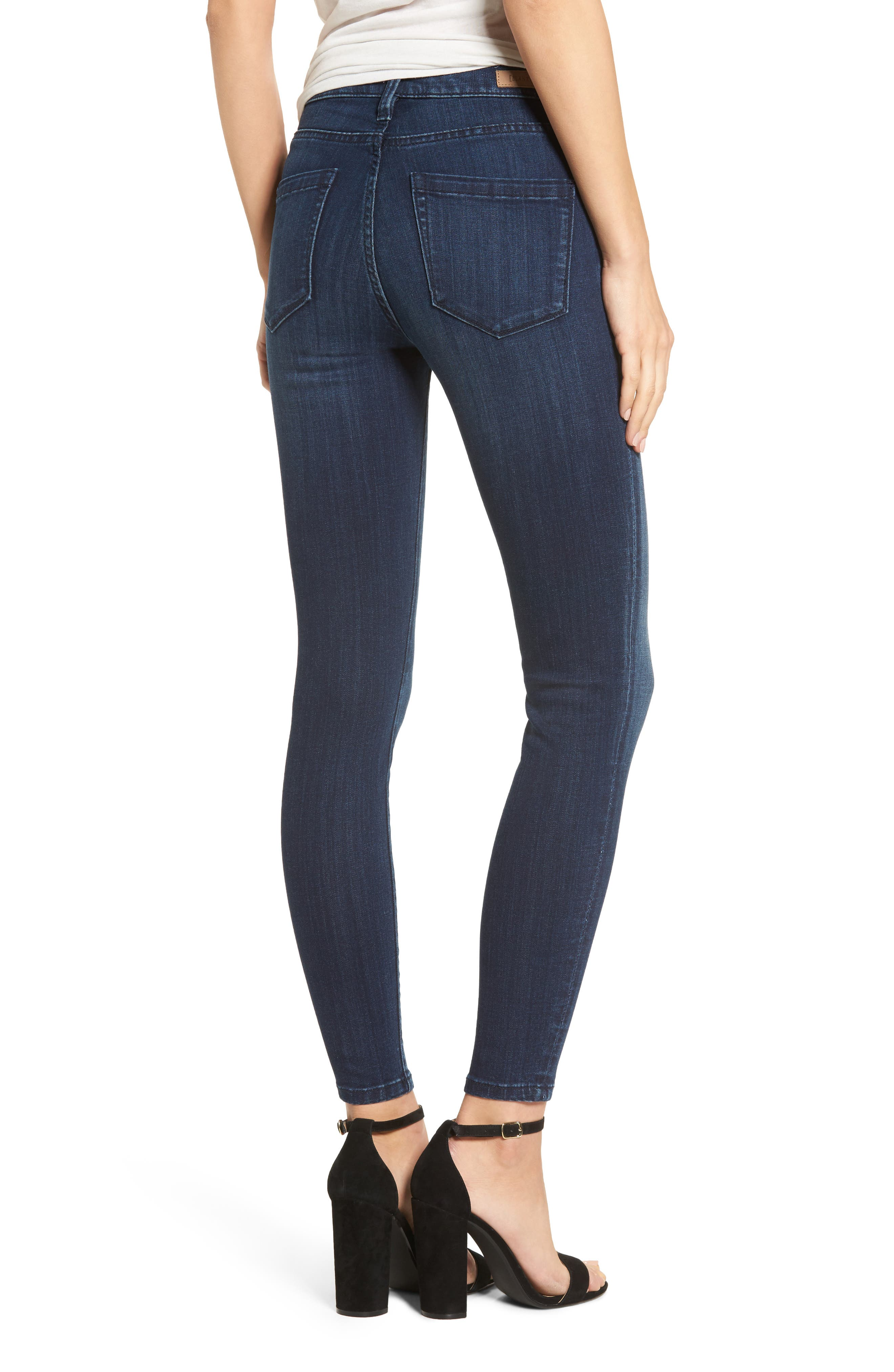 The Bond Stretch Skinny Jeans,                             Alternate thumbnail 2, color,                             400