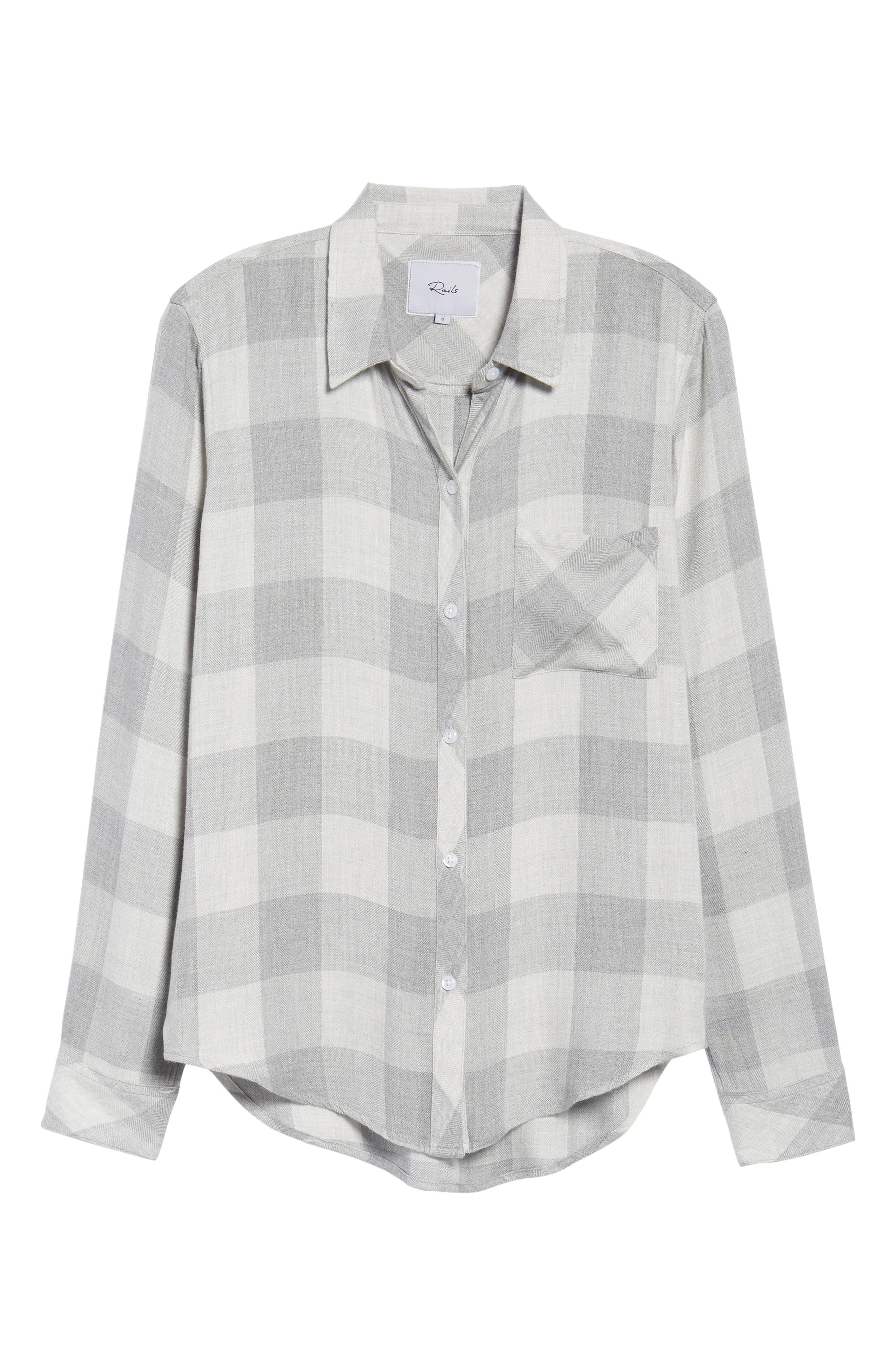 Hunter Plaid Shirt,                             Alternate thumbnail 695, color,