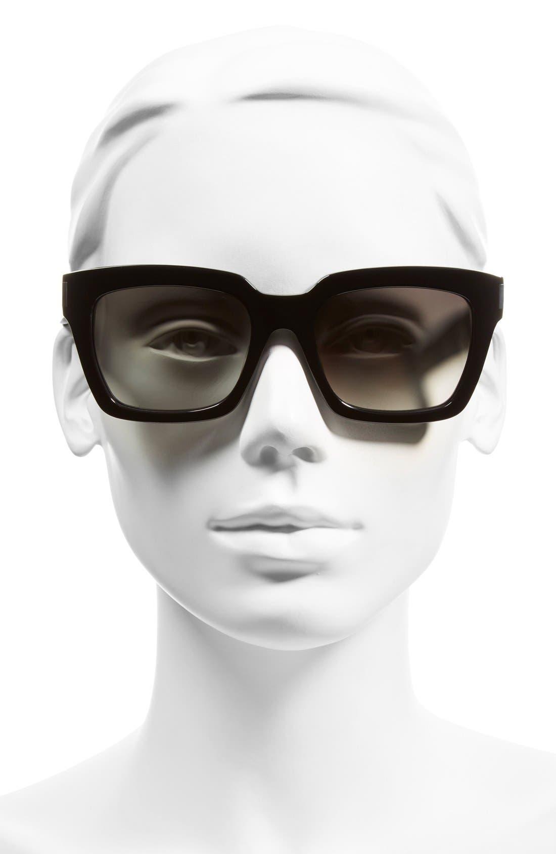 'Bold' 54mm Sunglasses,                             Alternate thumbnail 2, color,                             001