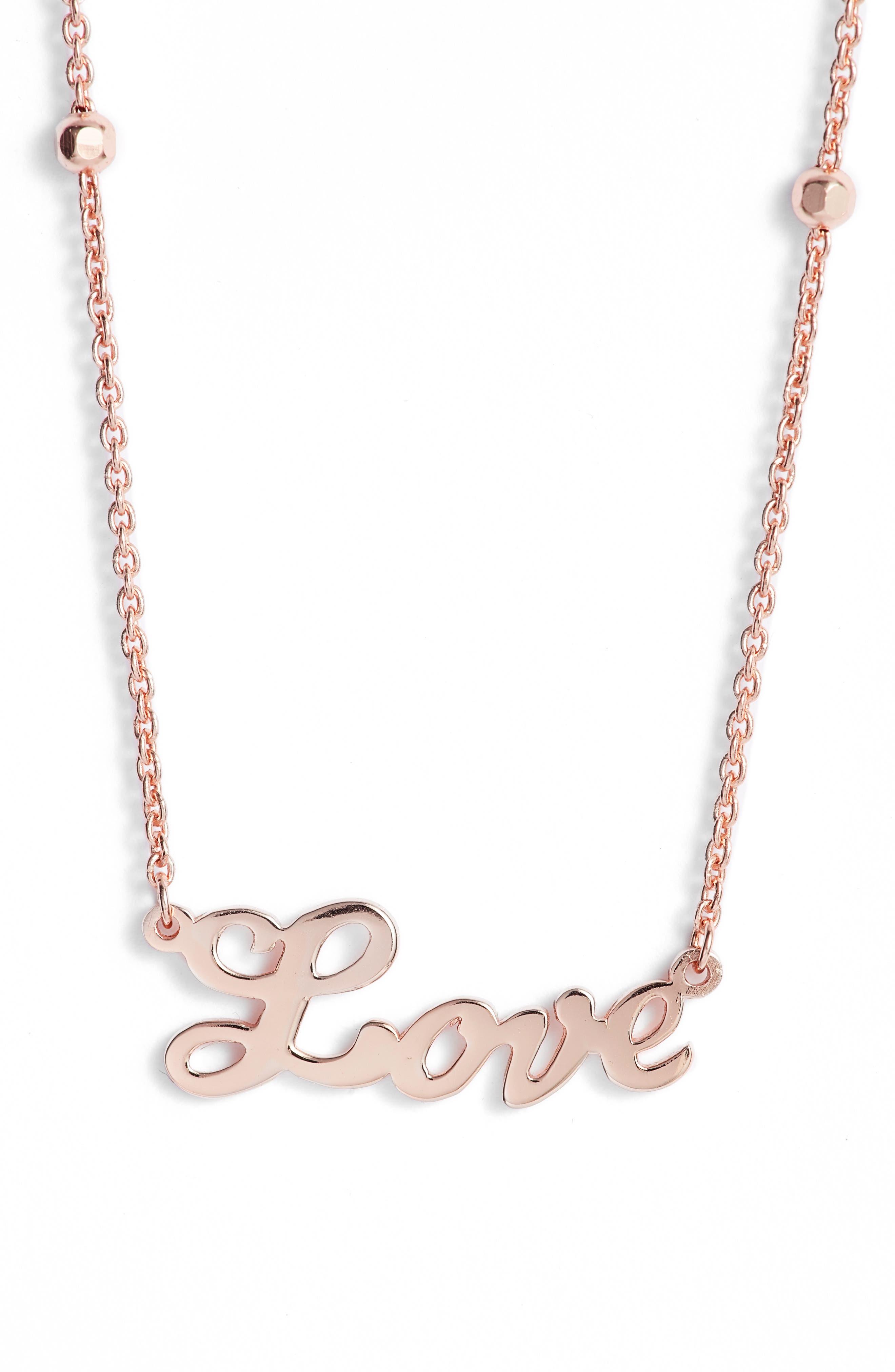 Love Pendant Necklace,                             Main thumbnail 2, color,