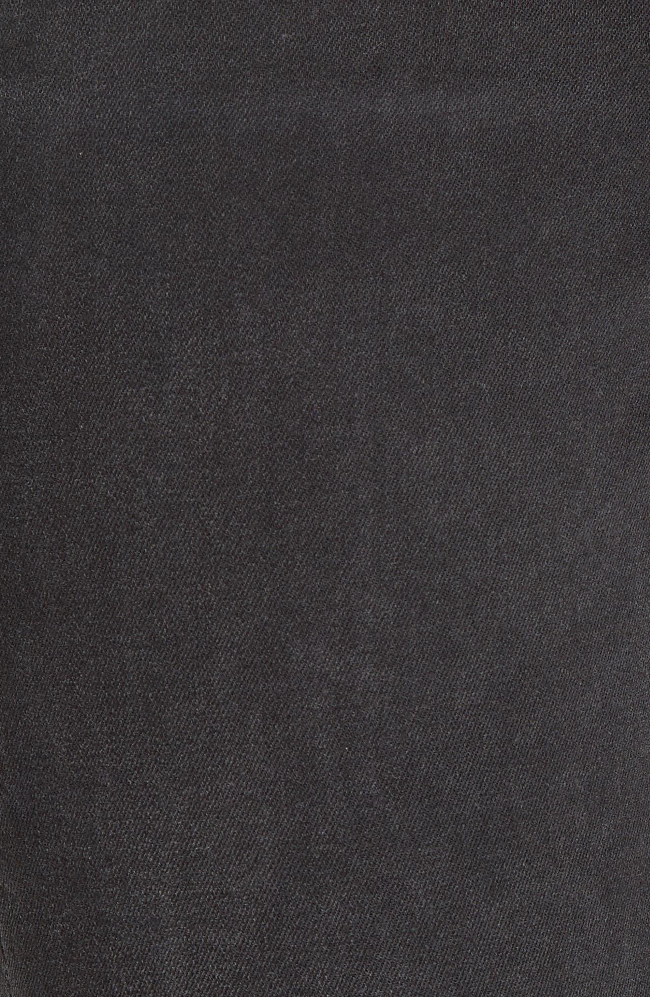 The Skinny Stretch Denim Jeans,                             Alternate thumbnail 5, color,                             001