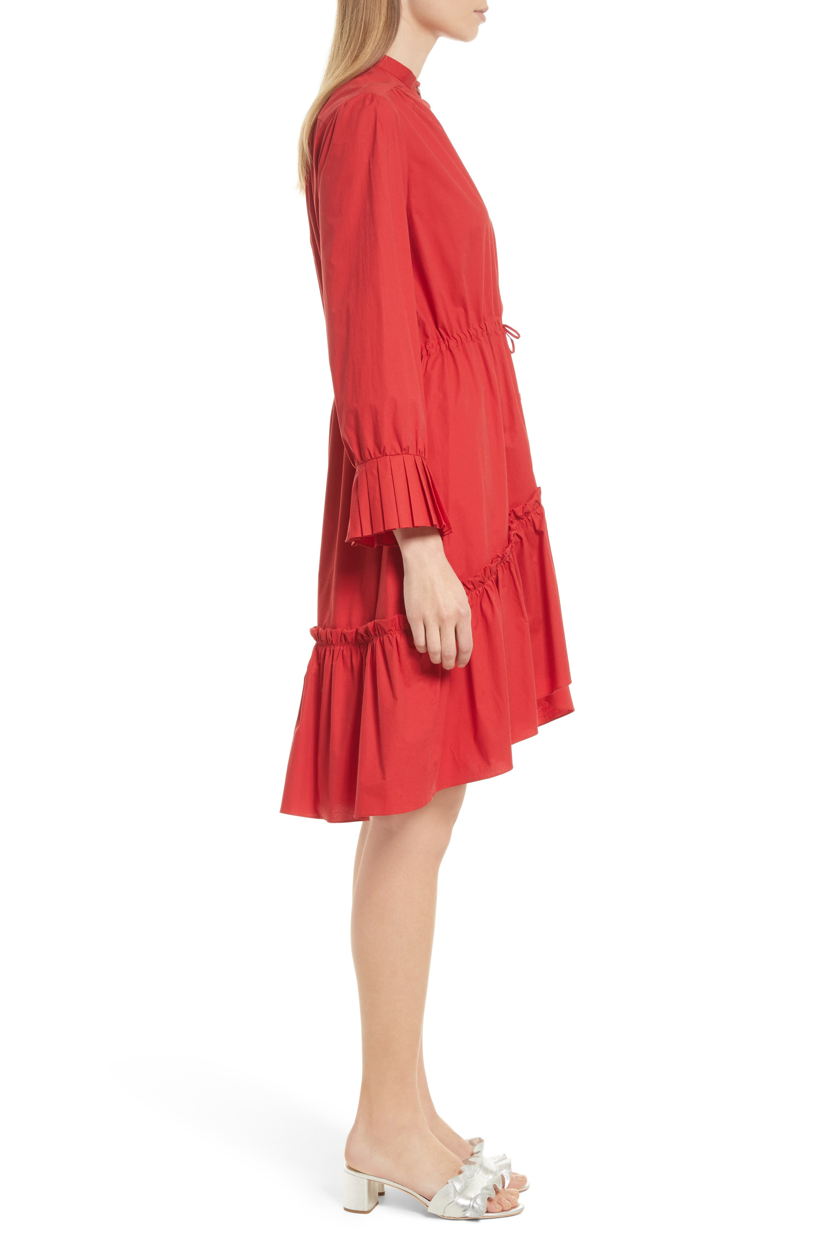 Billie Cotton Dress,                             Alternate thumbnail 3, color,                             616