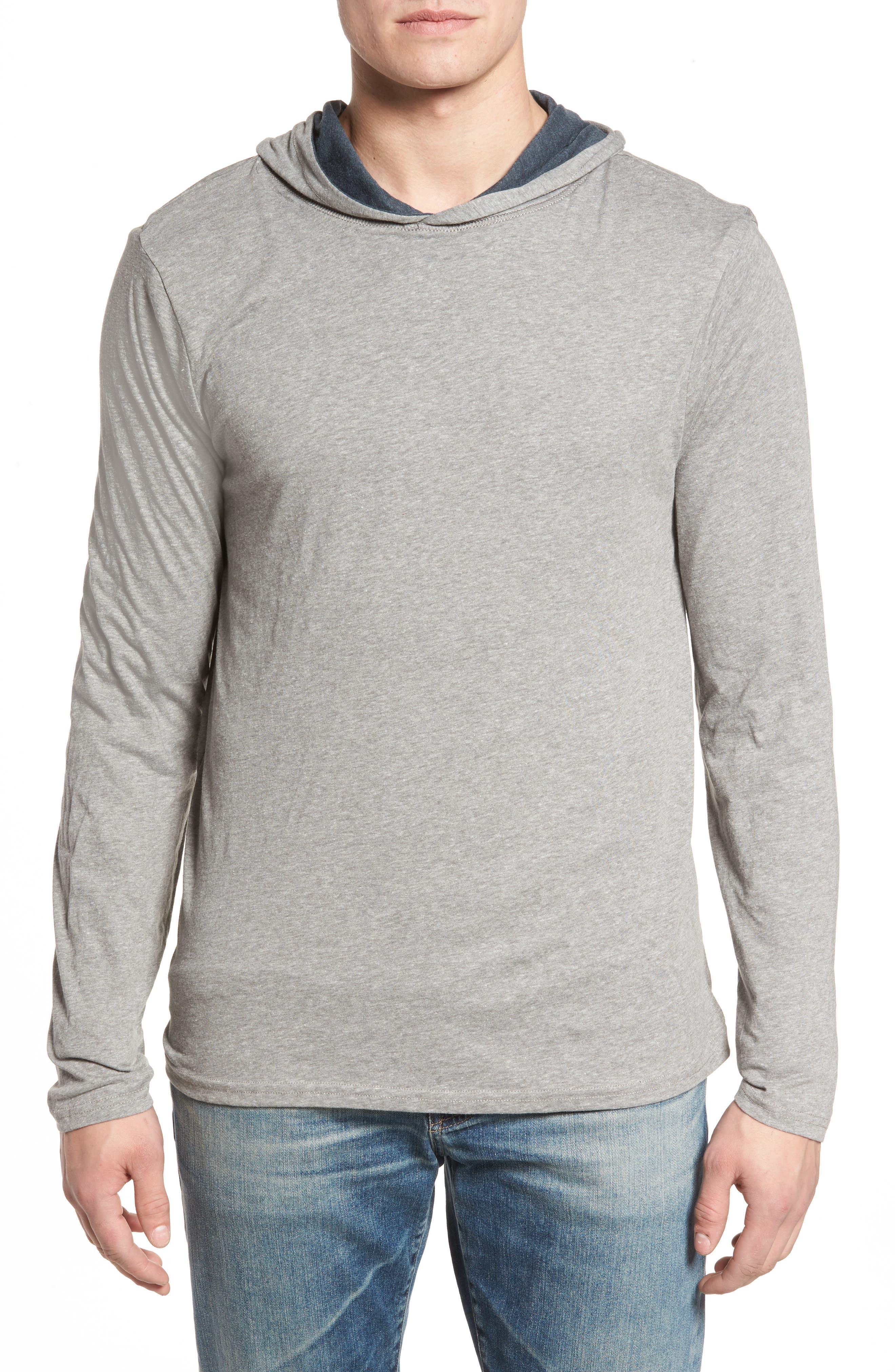 Reversible Hooded Jersey T-Shirt,                             Alternate thumbnail 5, color,