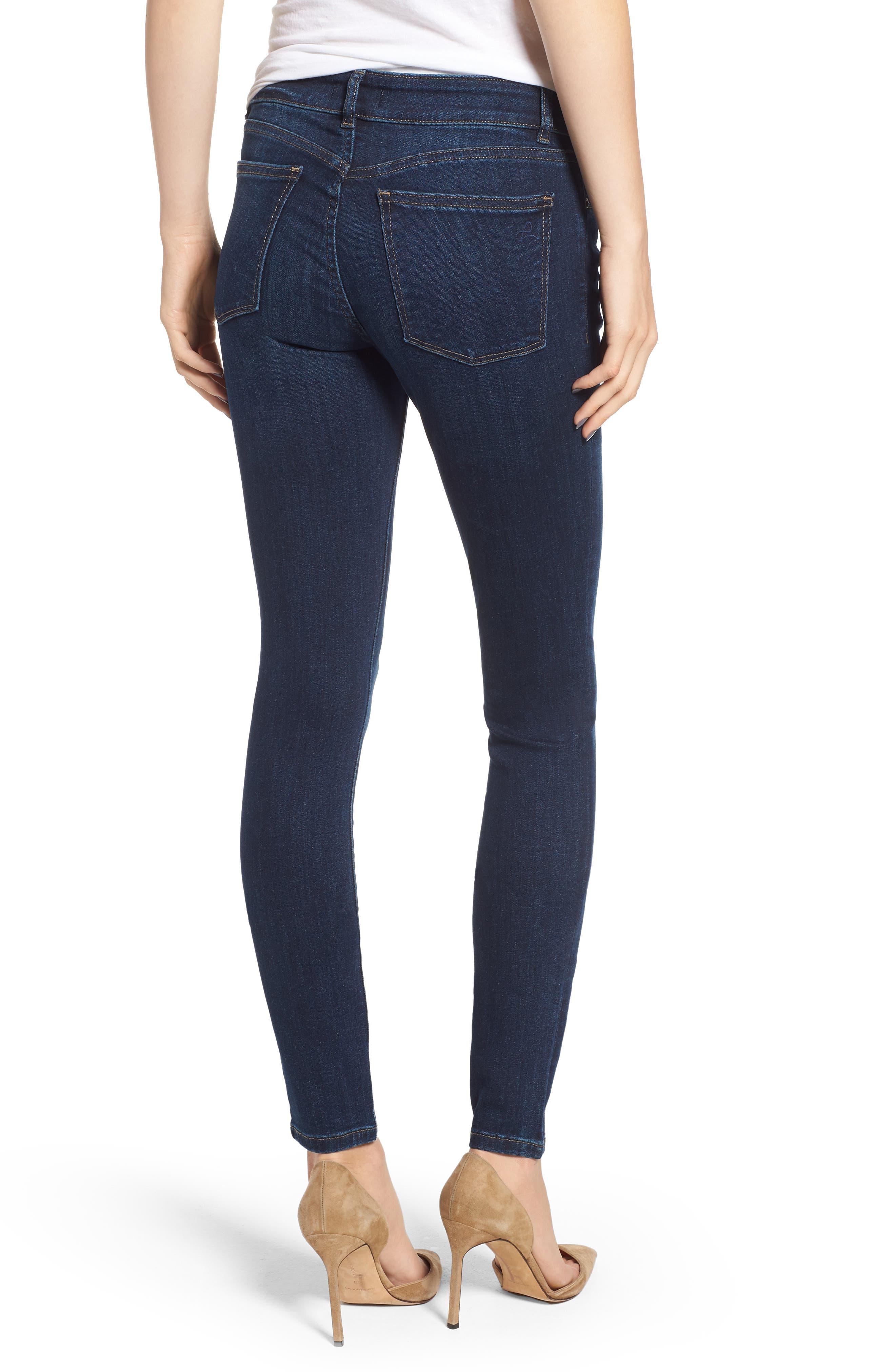 DL1961,                             Florence Instasculpt Skinny Jeans,                             Alternate thumbnail 2, color,                             410