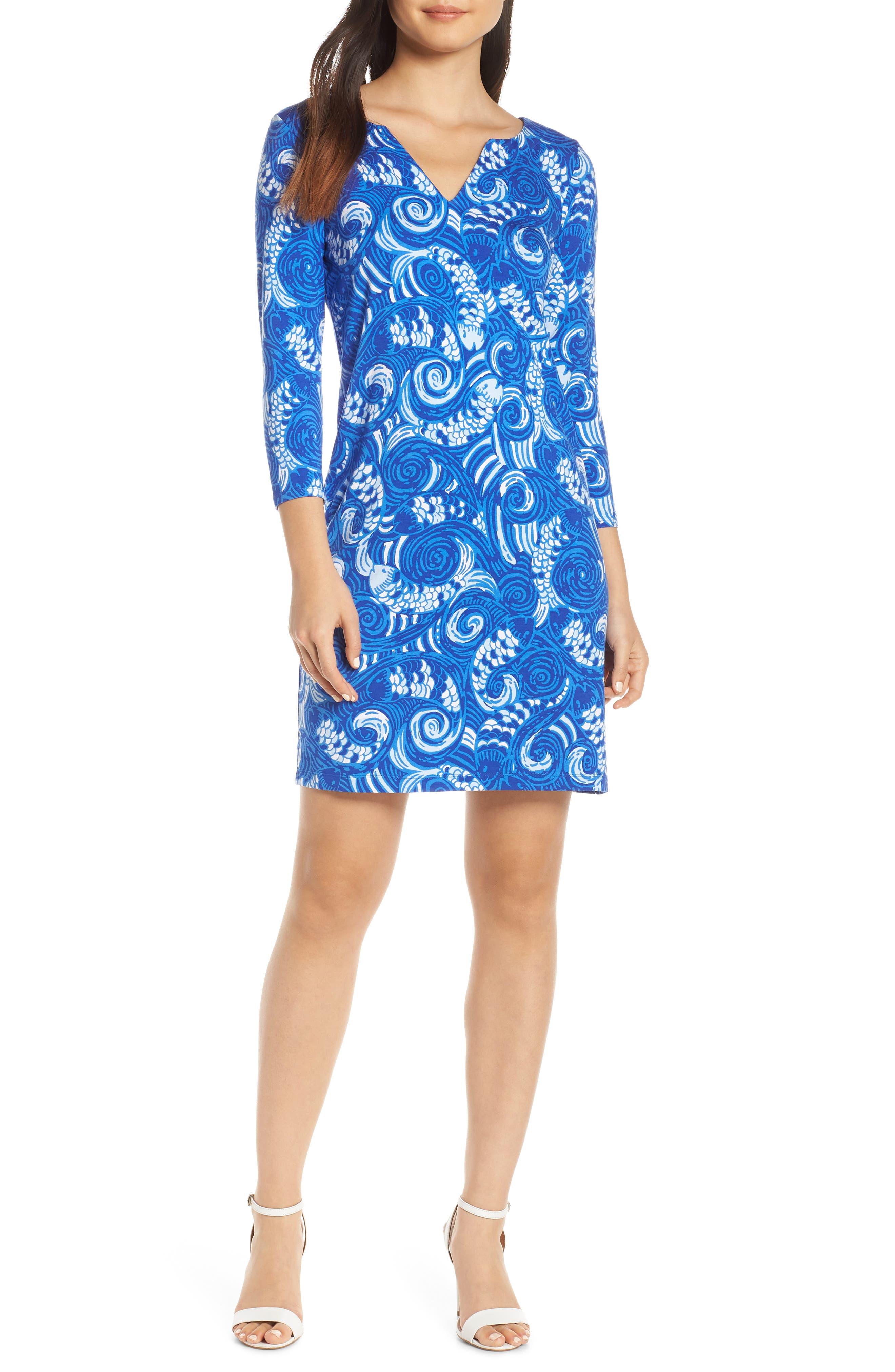 Lilly Pulitzer Sophiletta Upf 50+ Minidress, Blue