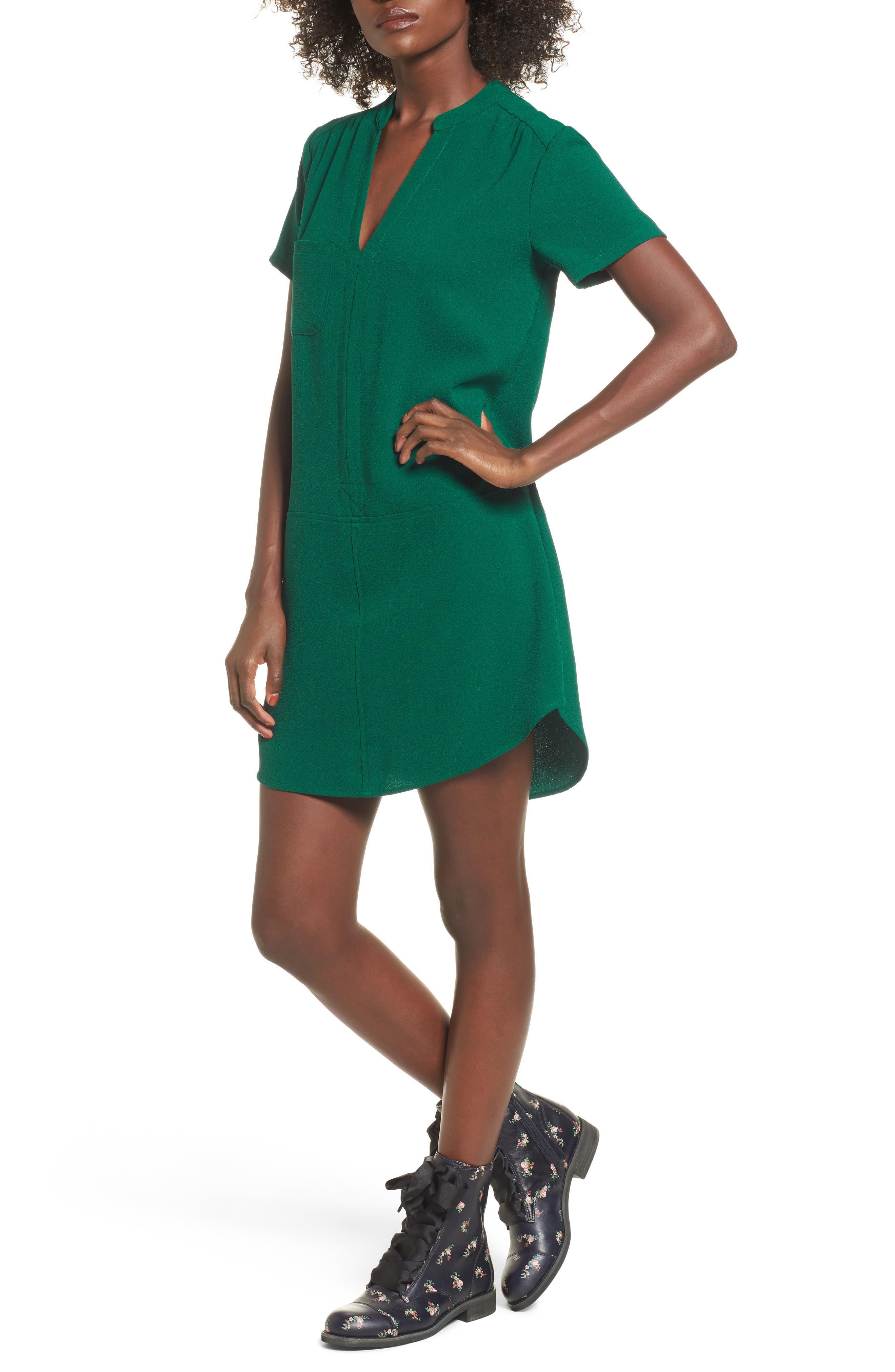 Hailey Crepe Dress,                             Main thumbnail 6, color,