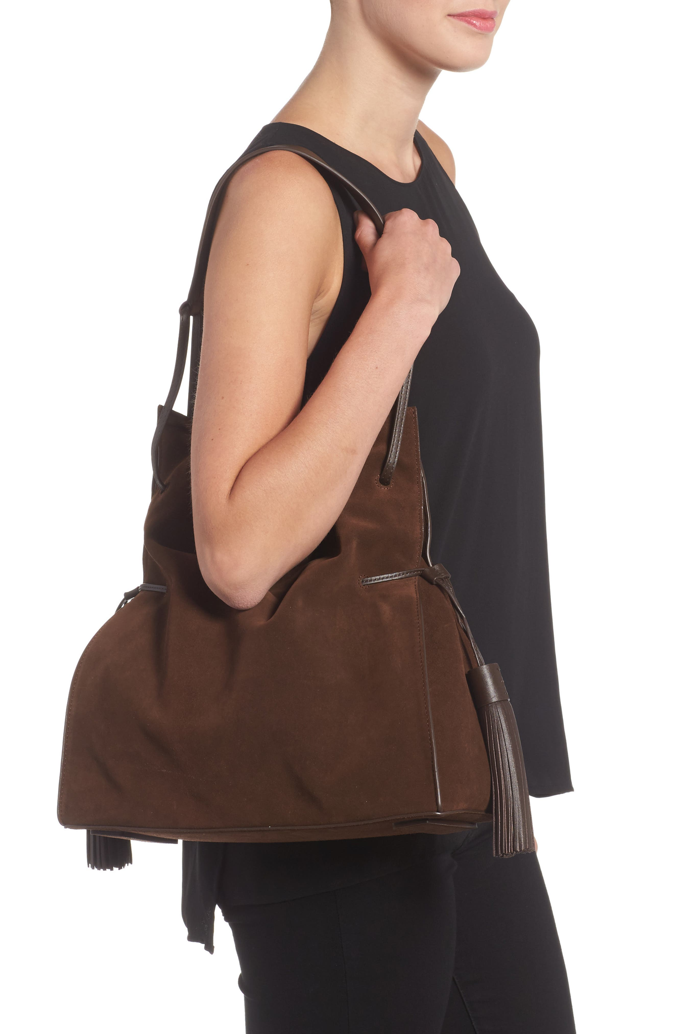 Freedom Suede Hobo,                             Alternate thumbnail 10, color,
