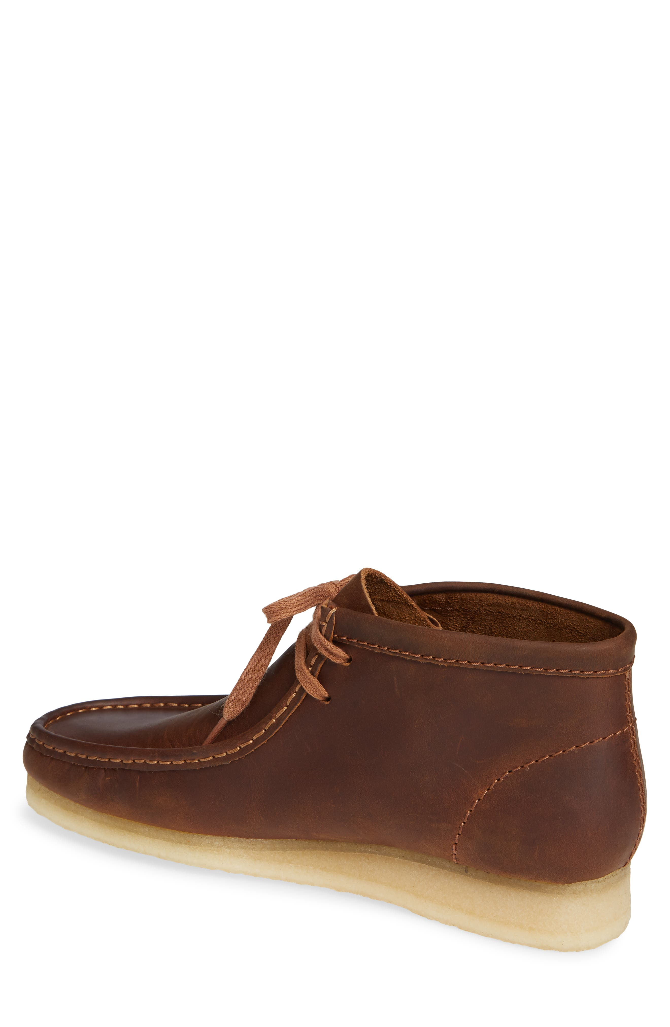 Wallabee Boot,                             Alternate thumbnail 2, color,                             BROWN LEATHER