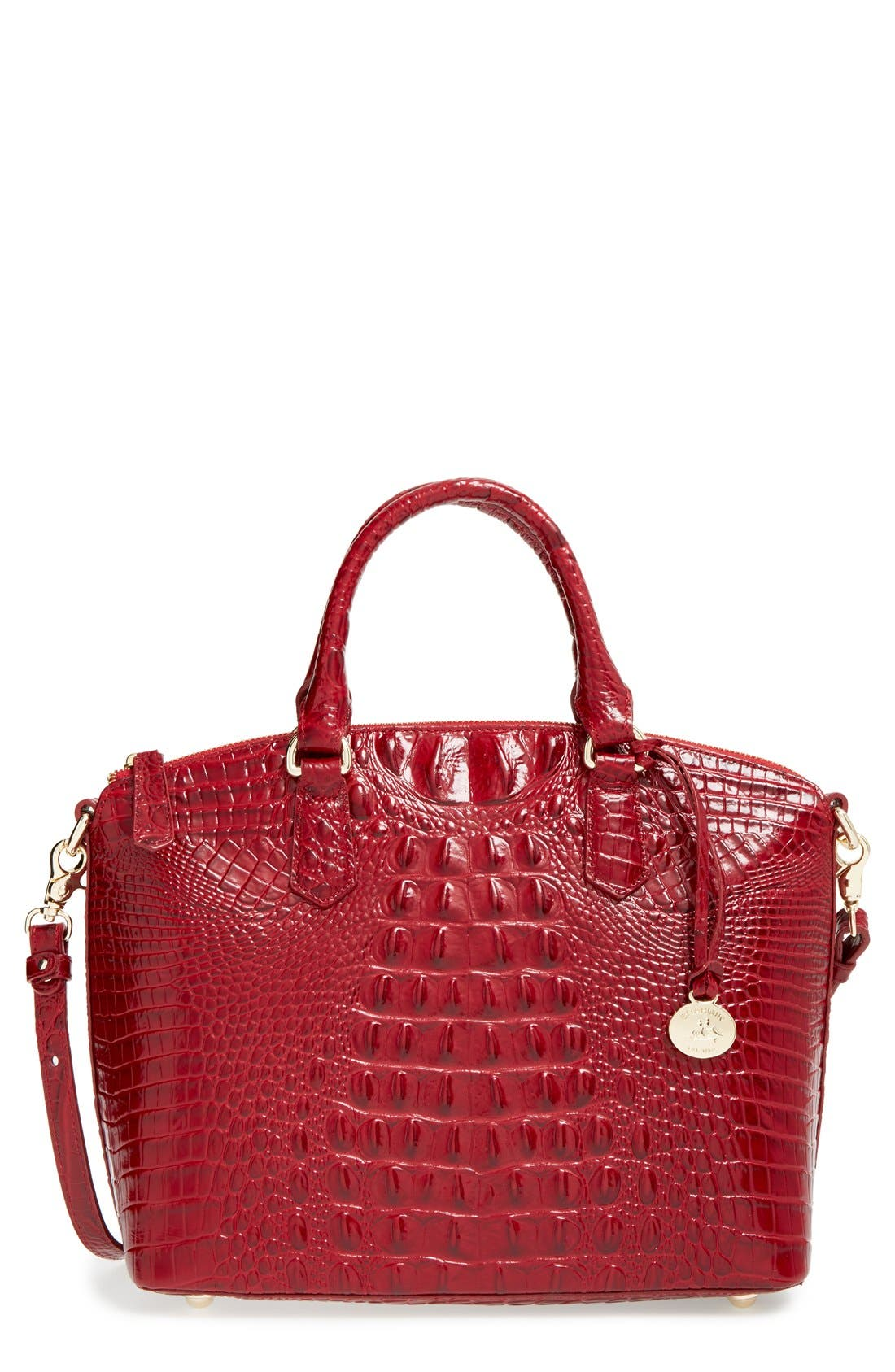 'Medium Duxbury' Croc Embossed Leather Satchel,                             Main thumbnail 20, color,