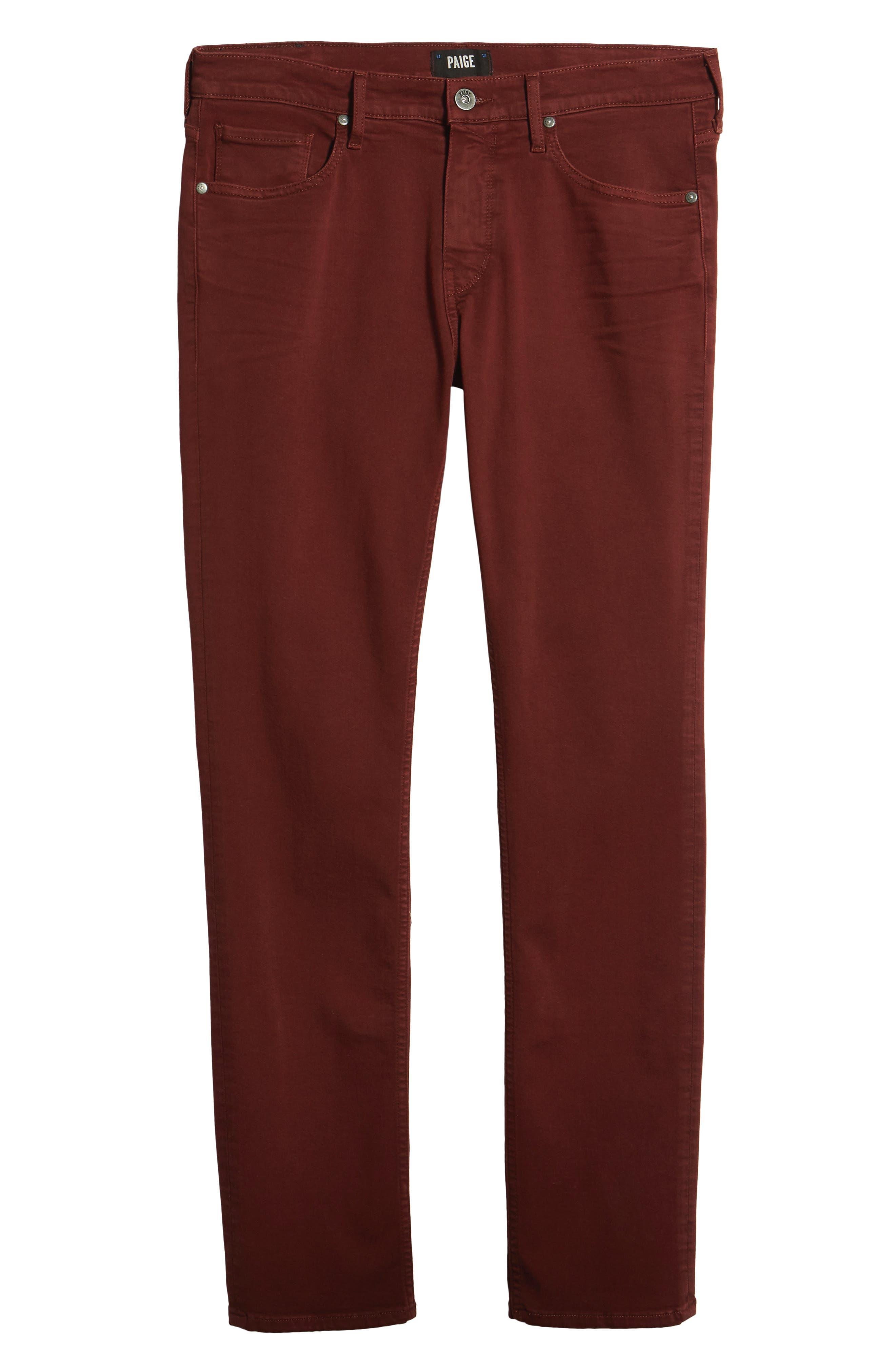 Federal Slim Straight Leg Jeans,                             Alternate thumbnail 6, color,                             600