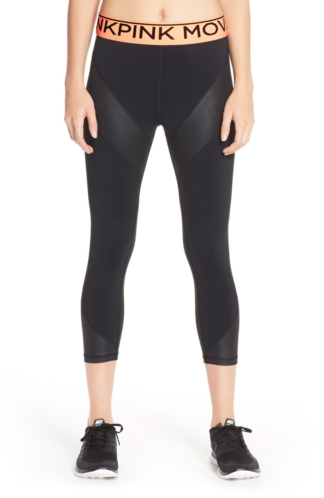 'Time to Move' Leggings, Main, color, 001