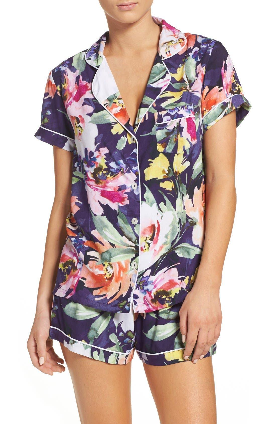 Zephyr Short Pajamas,                             Main thumbnail 1, color,                             400