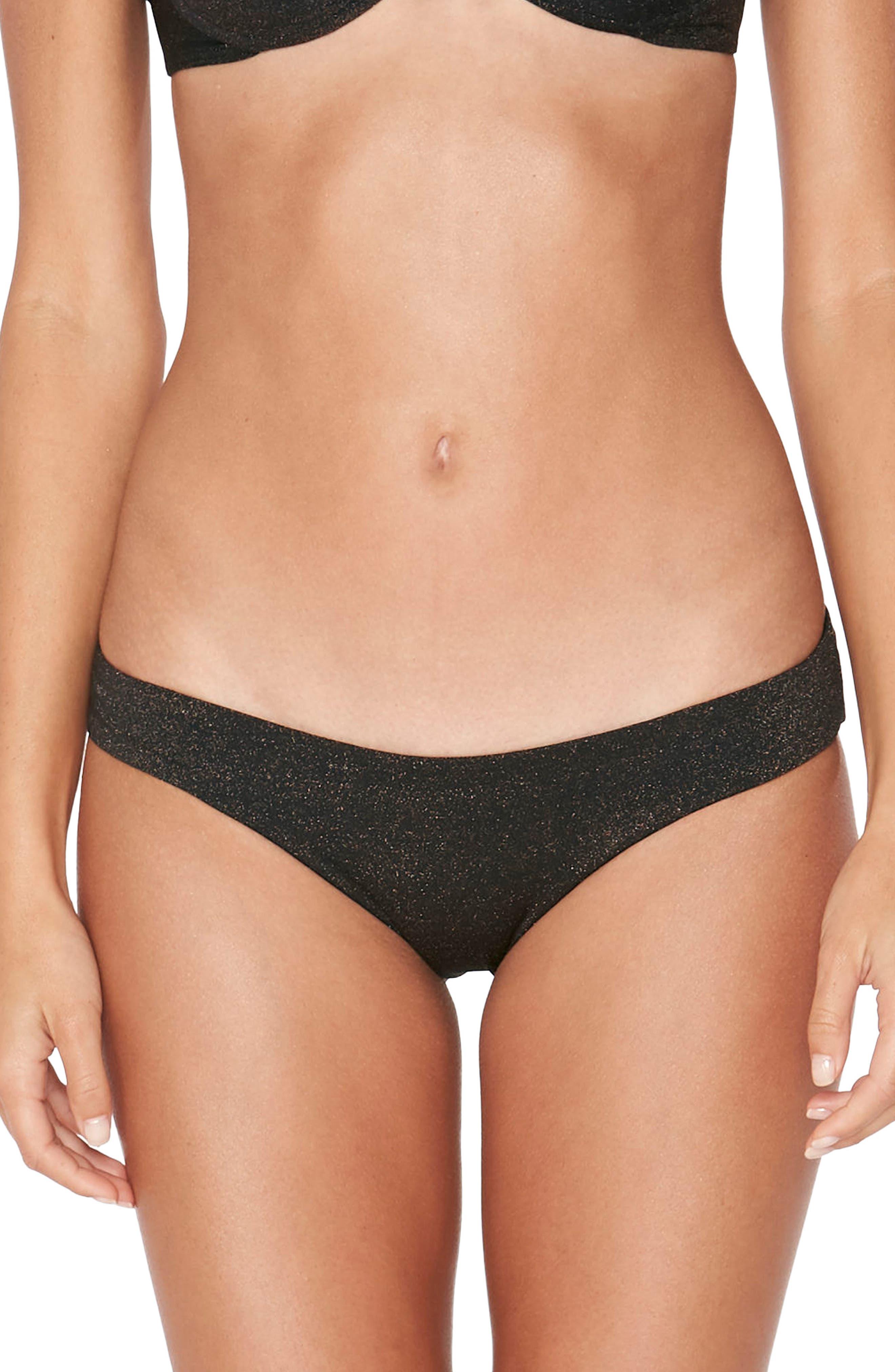 Sandy Shine on Me Metallic Bikini Bottoms,                         Main,                         color,
