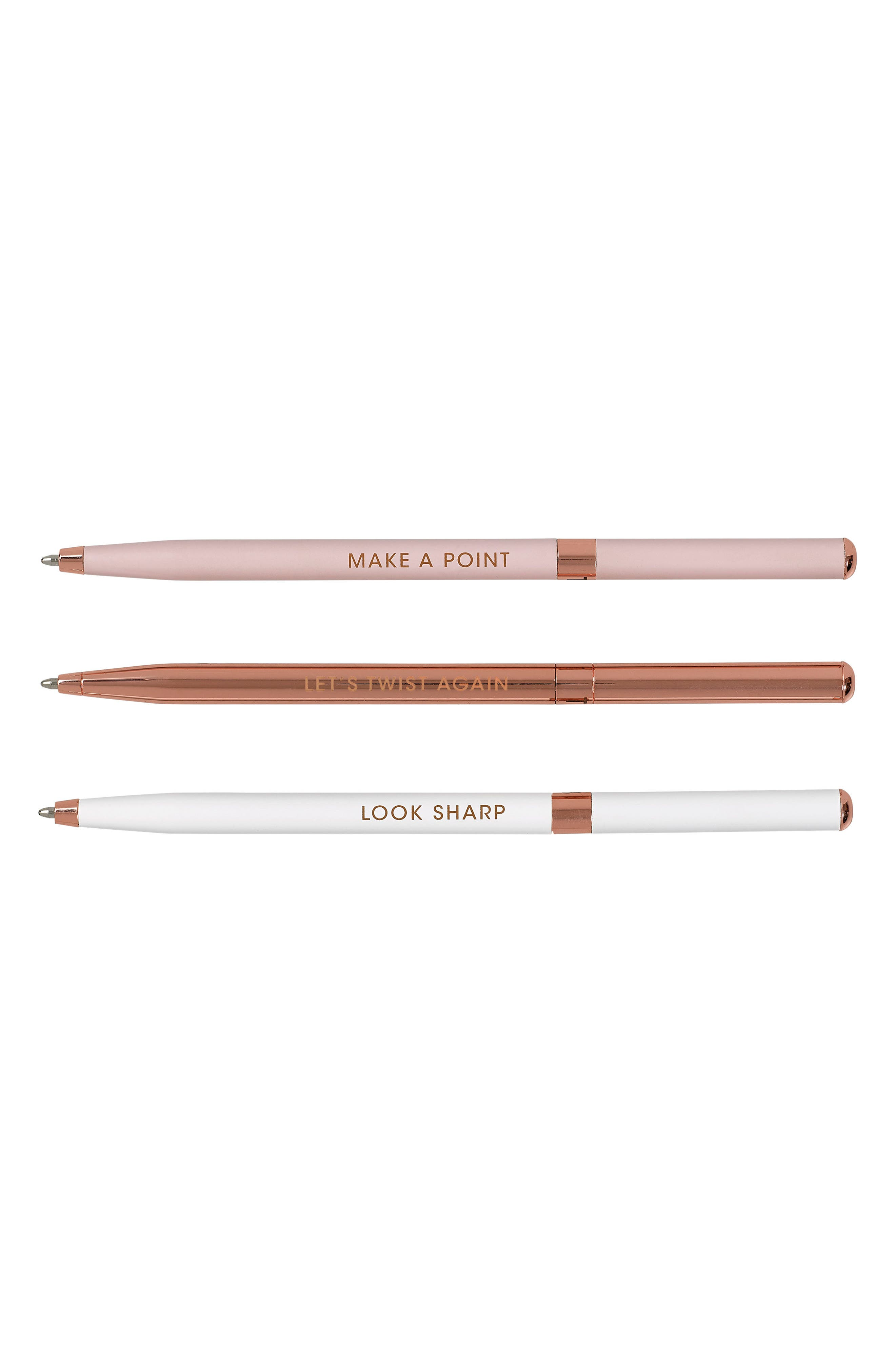 Set of 3 Ballpoint Pens,                             Alternate thumbnail 2, color,                             650