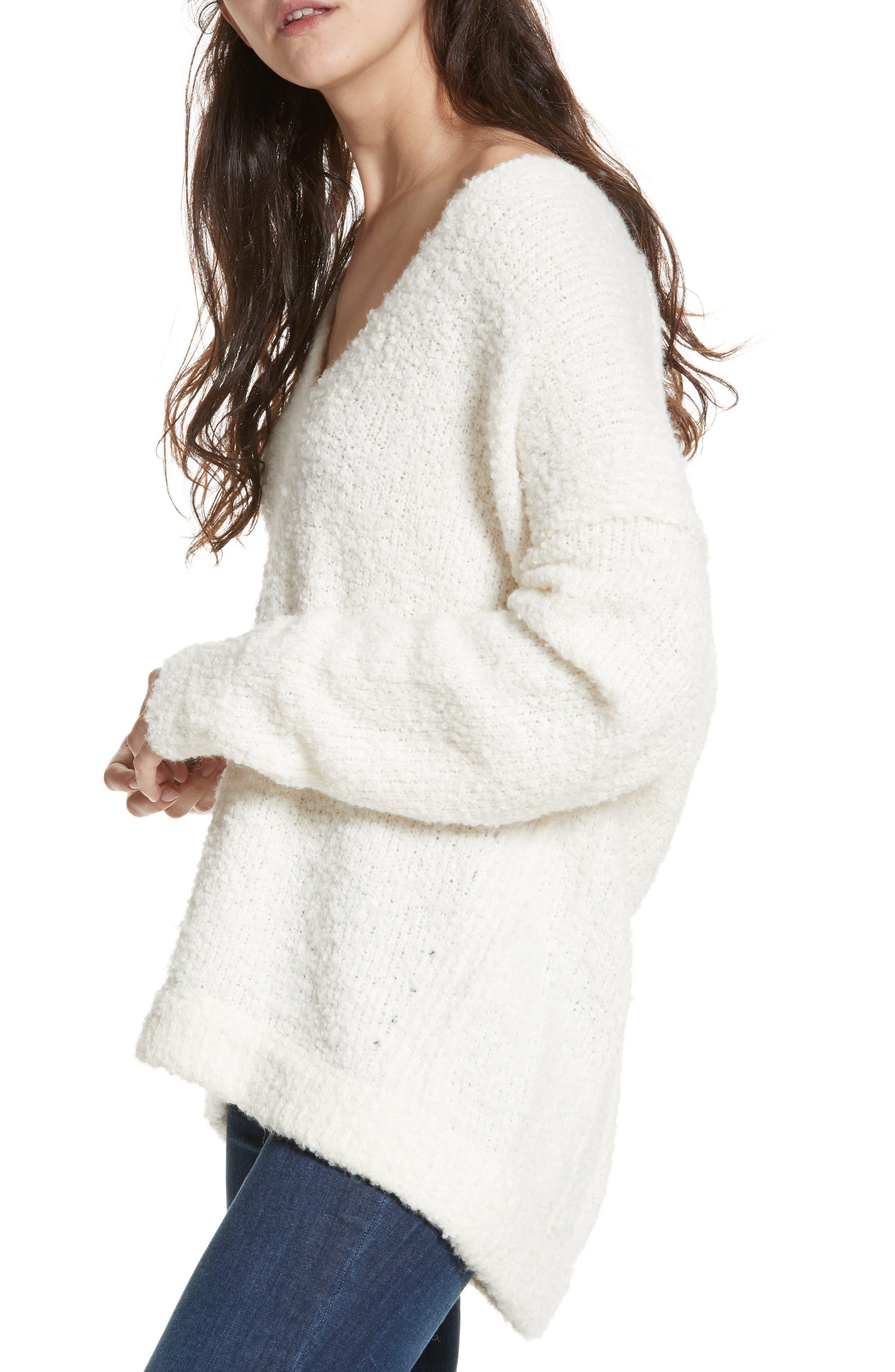 Lofty V-Neck Sweater,                             Main thumbnail 6, color,