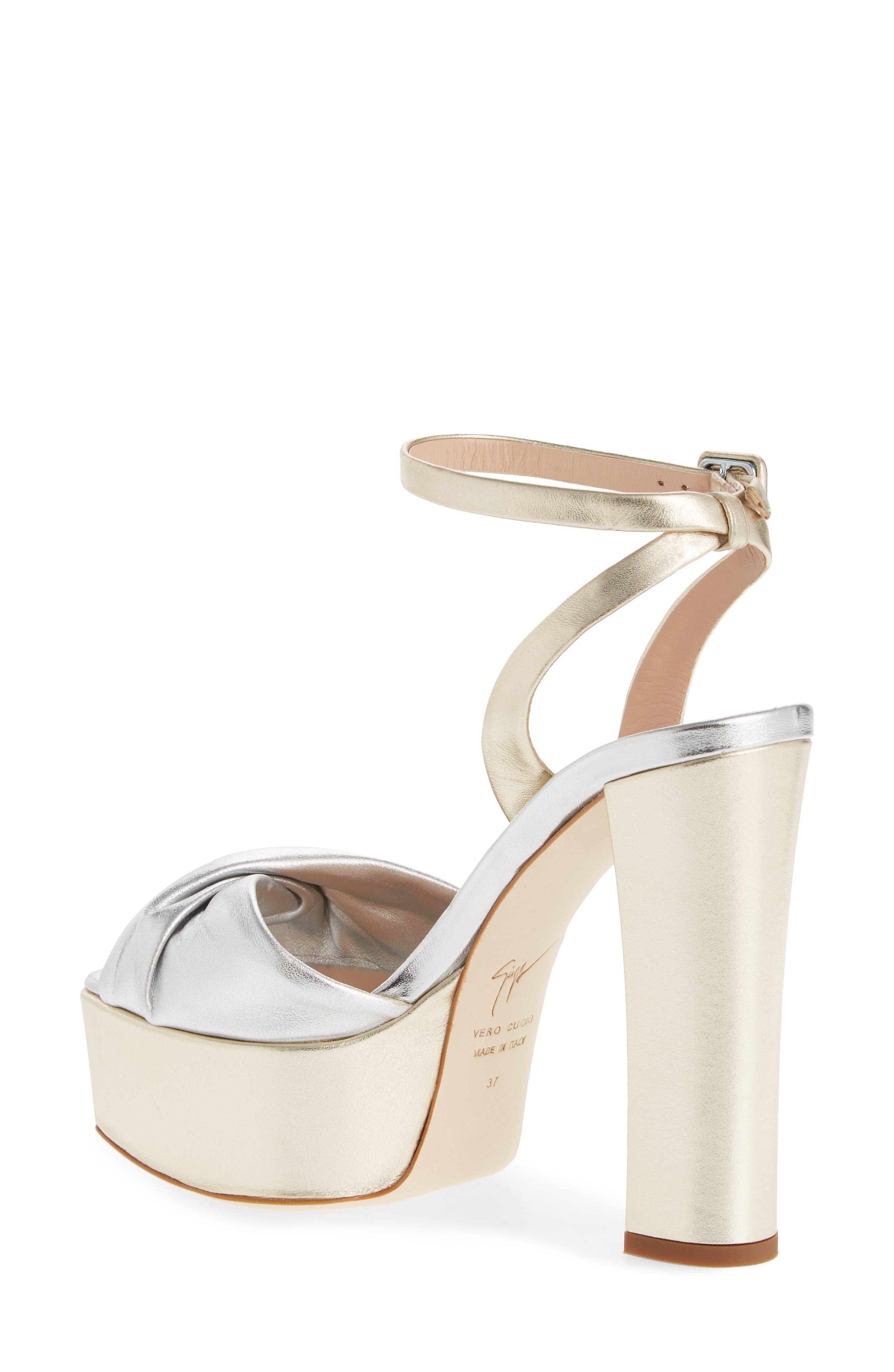 Ankle Strap Platform Sandal,                             Alternate thumbnail 2, color,                             040