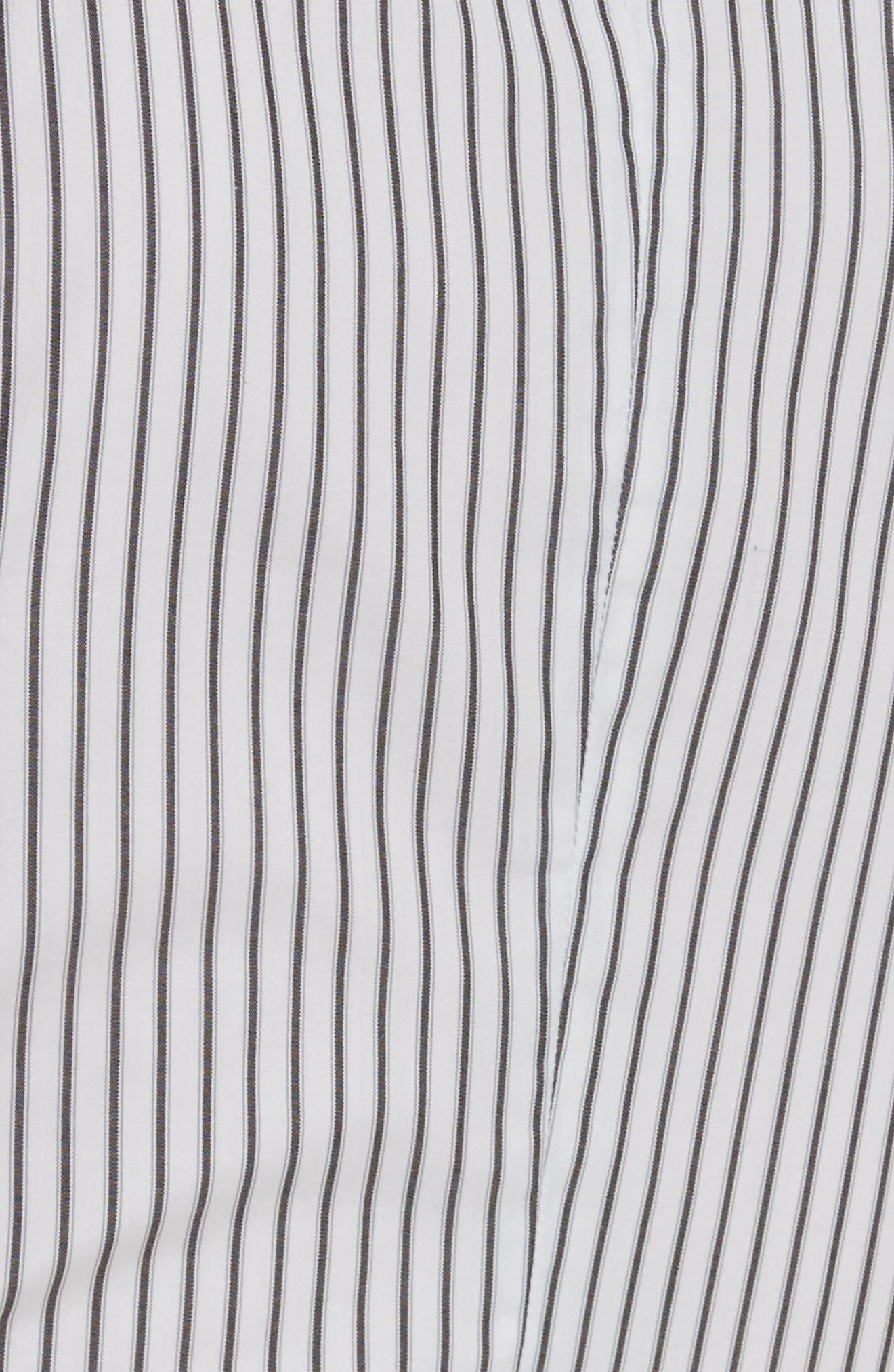 Wrap Shirtdress,                             Alternate thumbnail 5, color,                             162