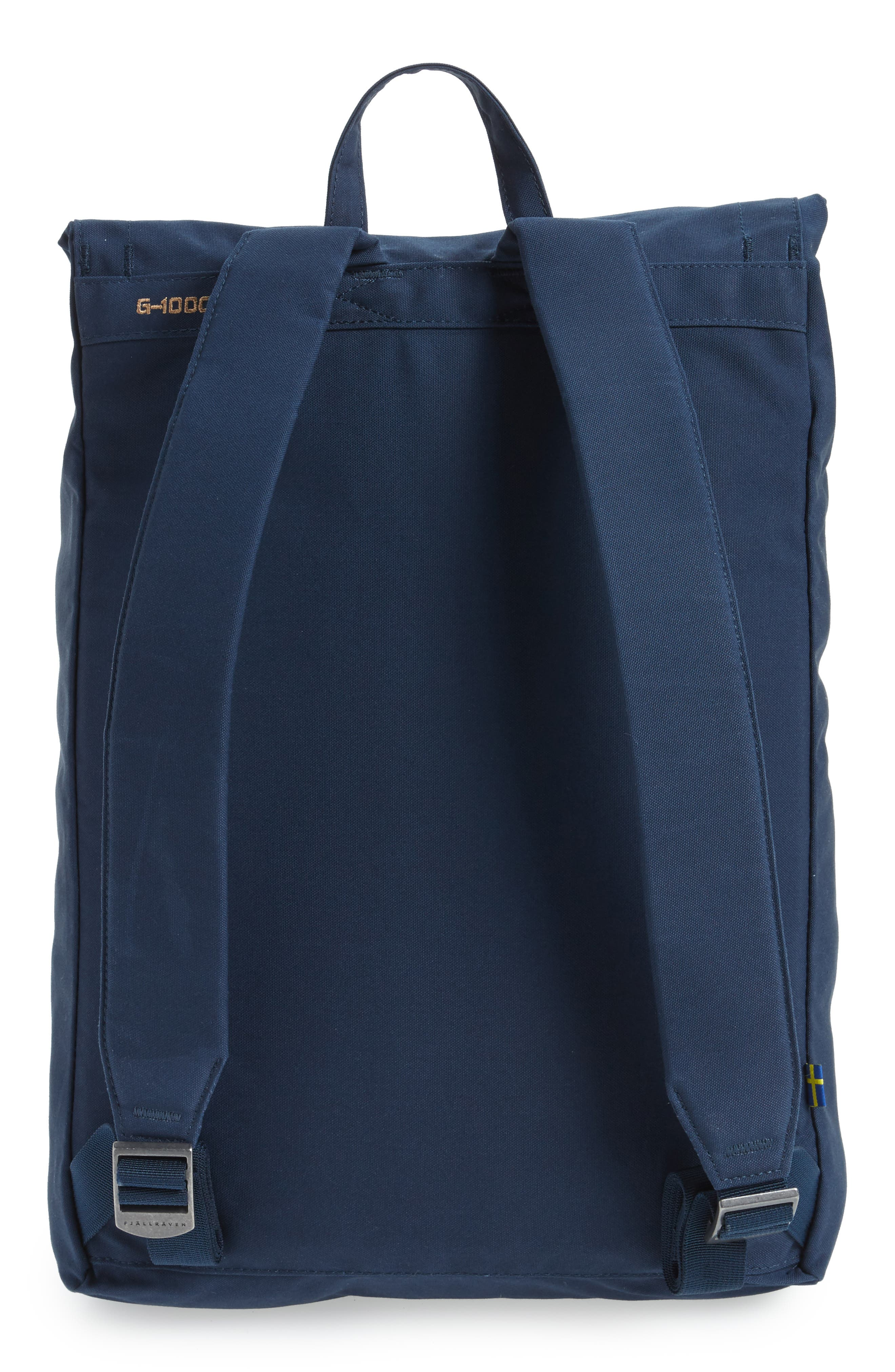 Foldsack No.1 Water Resistant Backpack,                             Alternate thumbnail 3, color,                             NAVY