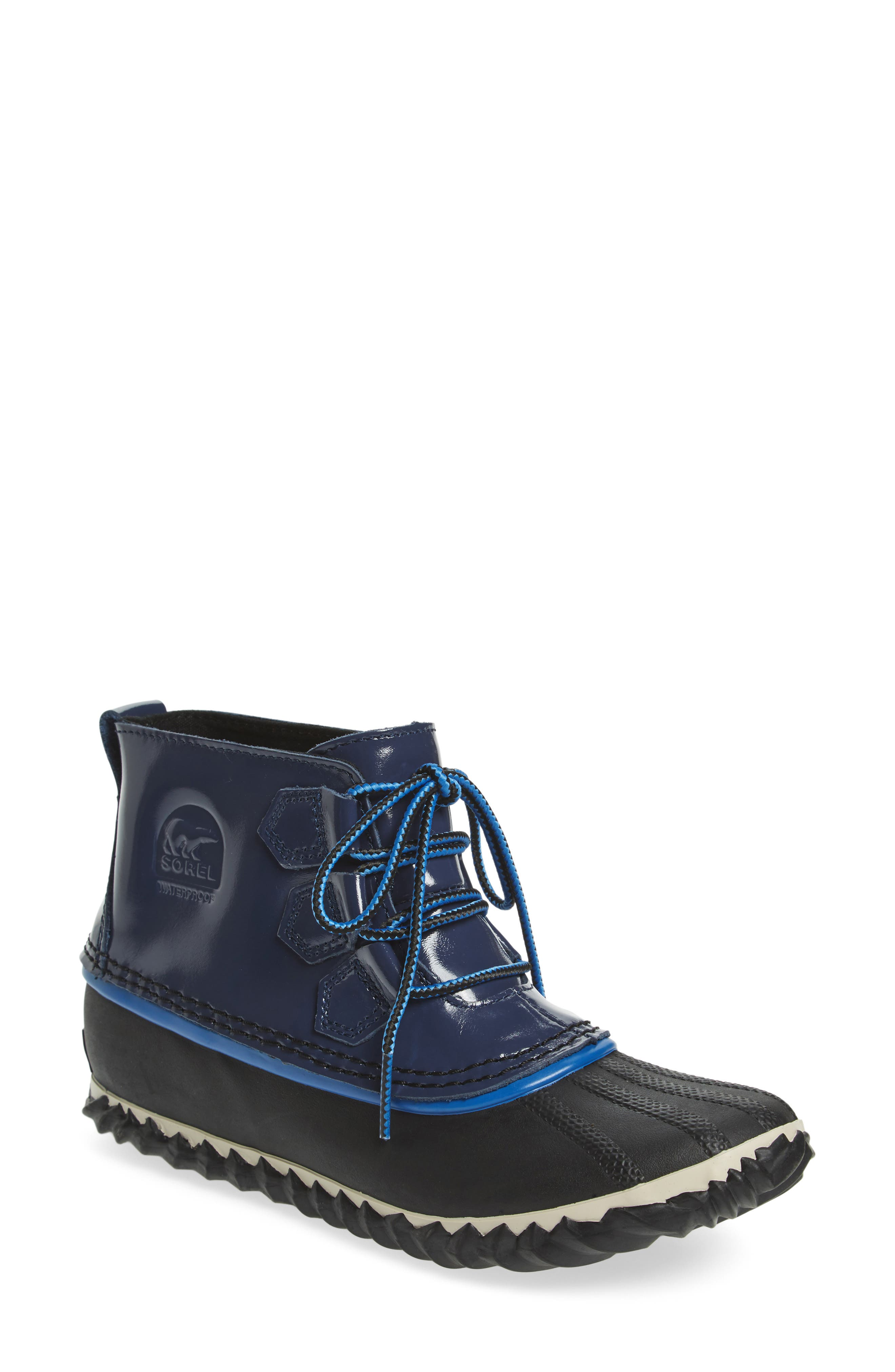SOREL,                             Out N About Rain Boot,                             Main thumbnail 1, color,                             400