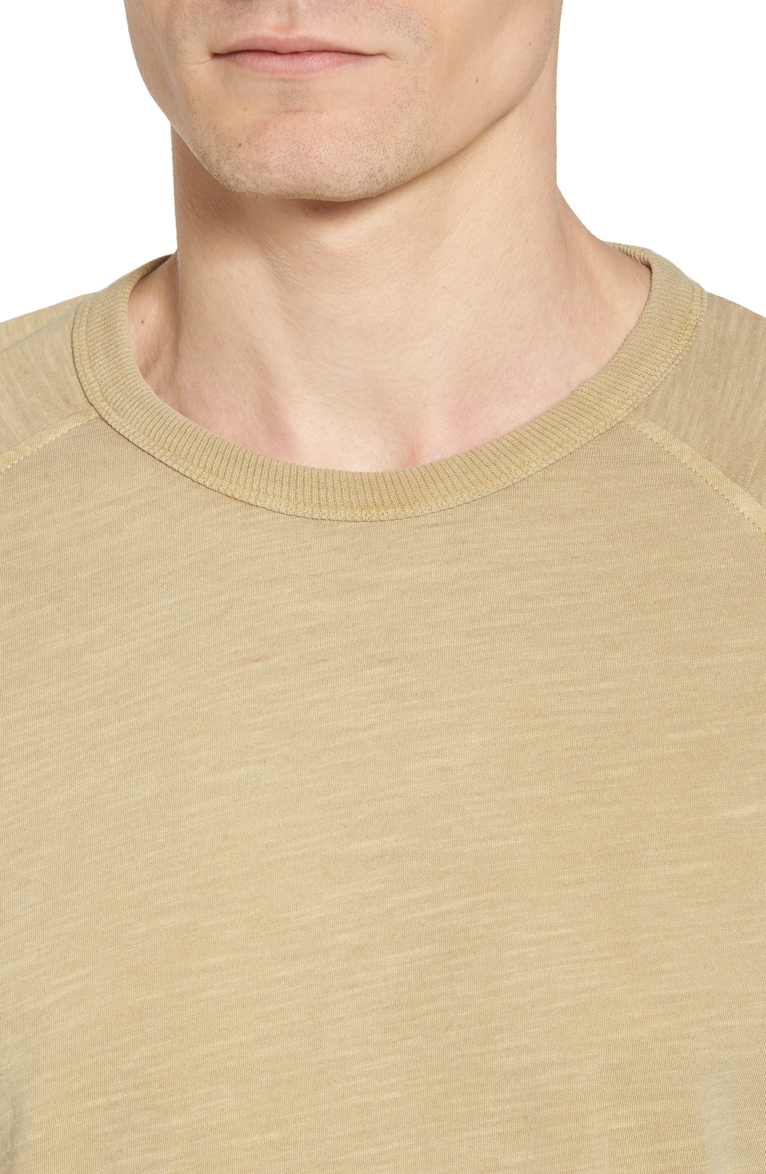 YMC,                             Television Raglan T-Shirt,                             Alternate thumbnail 4, color,                             250