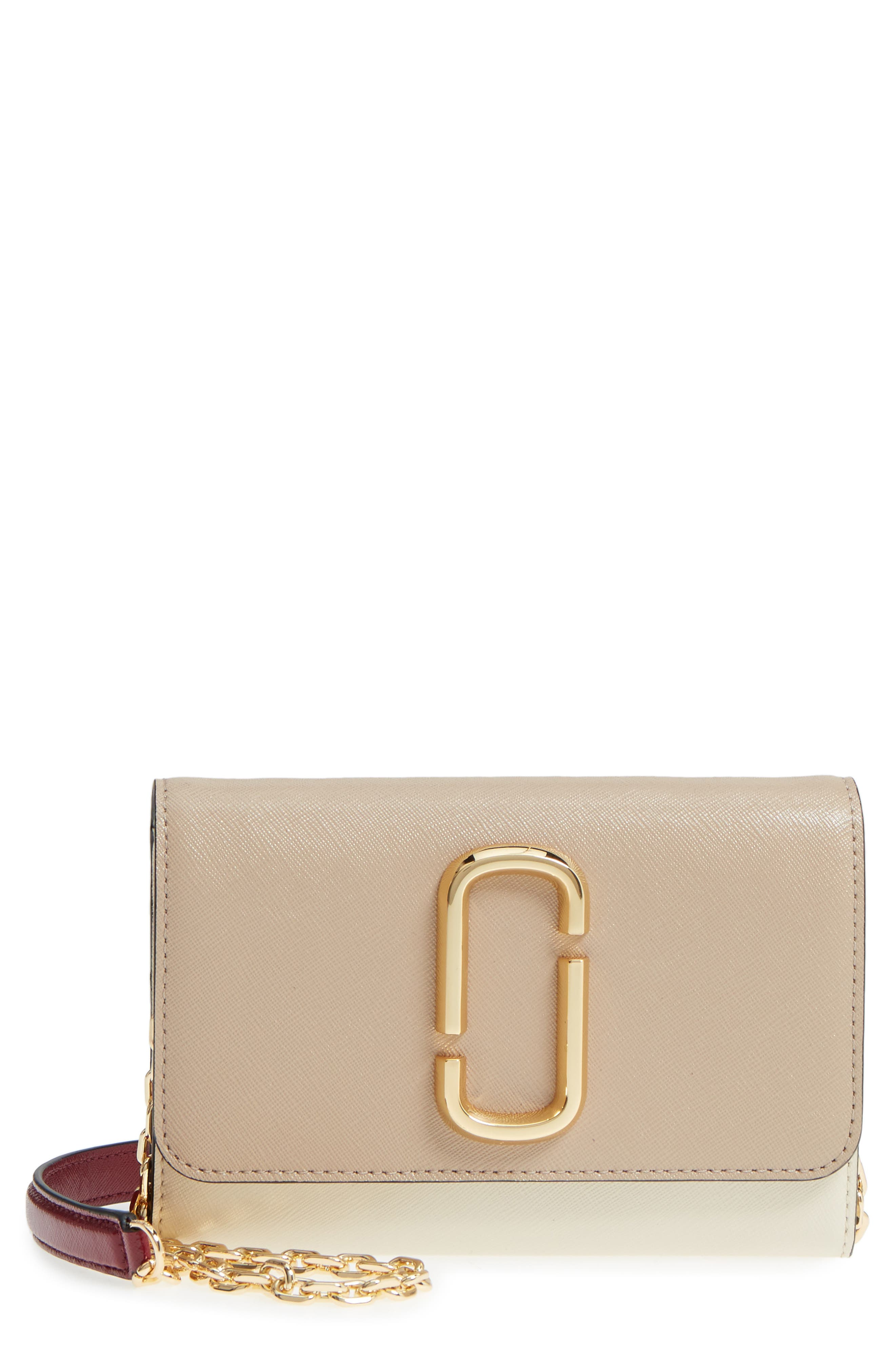 Snapshot Leather Wallet on a Chain,                             Main thumbnail 5, color,
