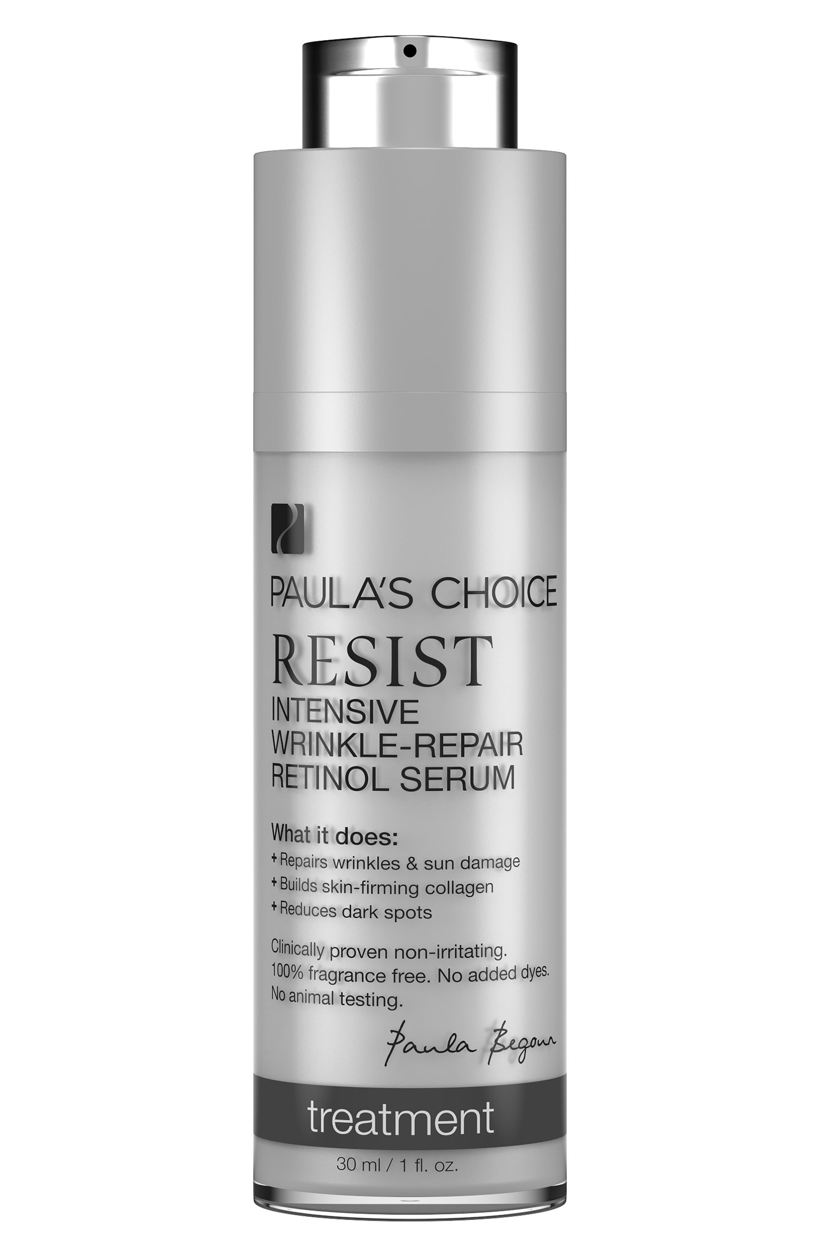 Resist Intensive Wrinkle-Repair Retinol Serum,                             Main thumbnail 1, color,                             000