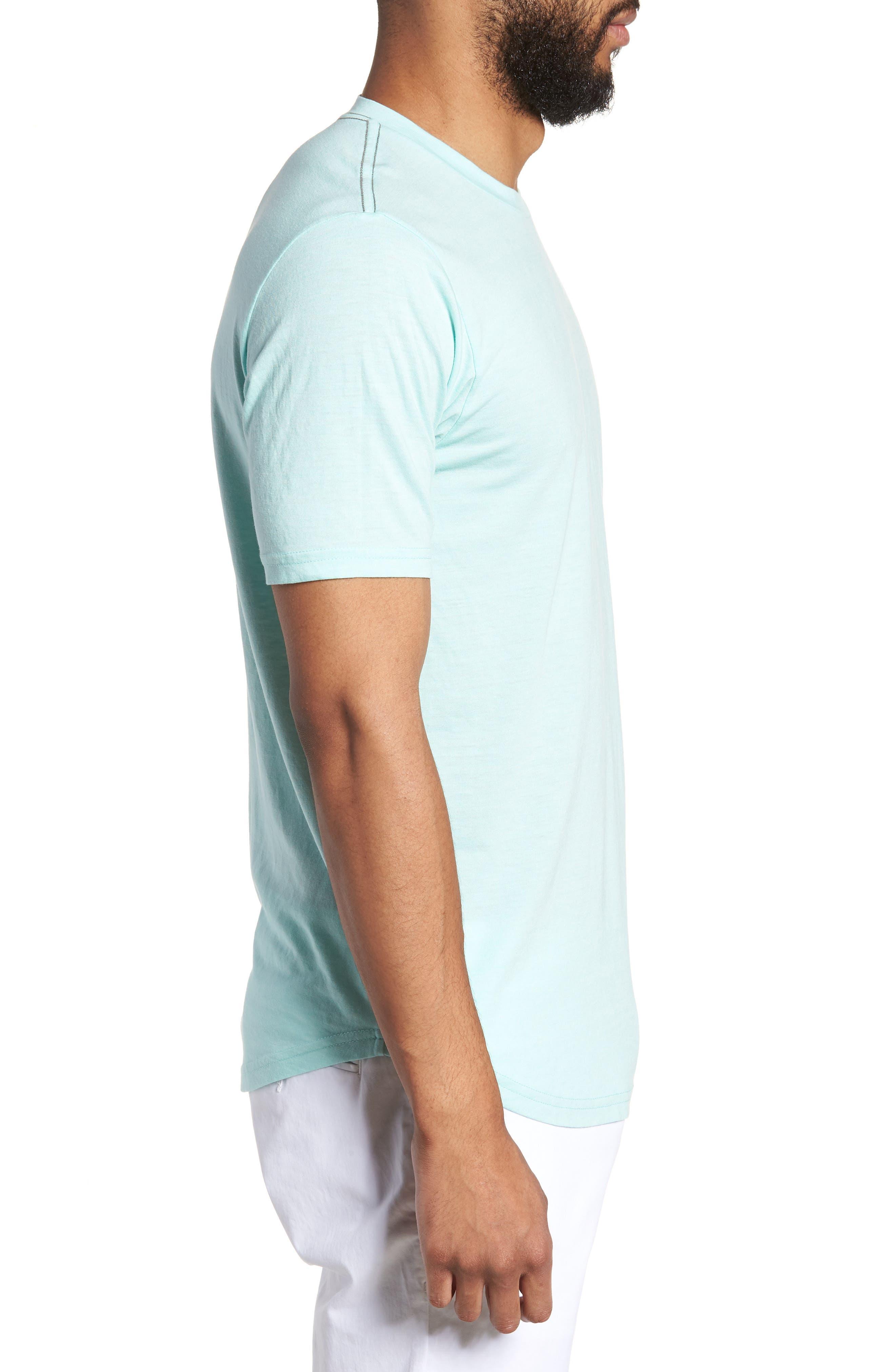 Scallop Triblend Crewneck T-Shirt,                             Alternate thumbnail 56, color,