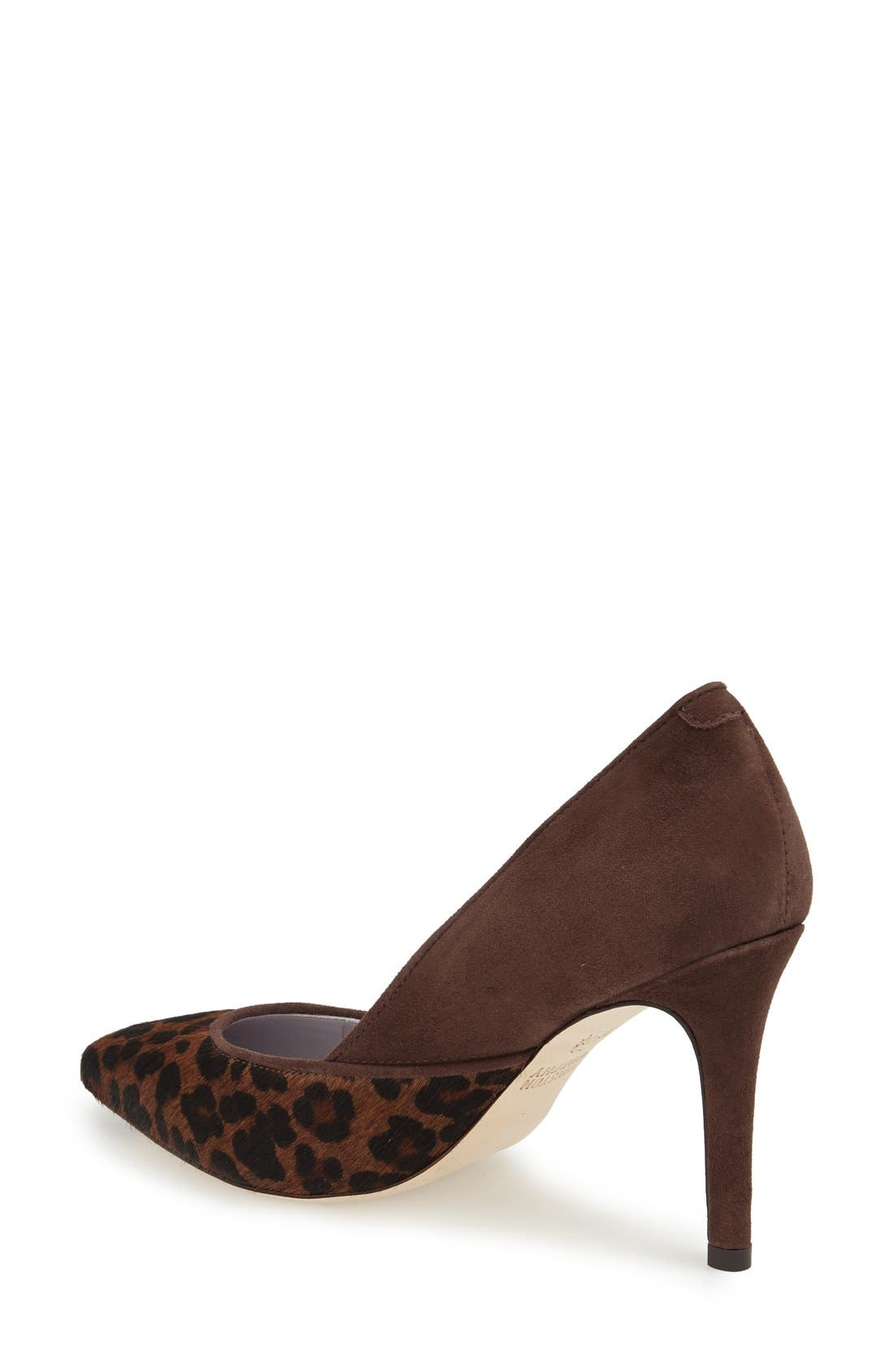 'Vanessa' Pointy Toe Leather Pump,                             Alternate thumbnail 29, color,