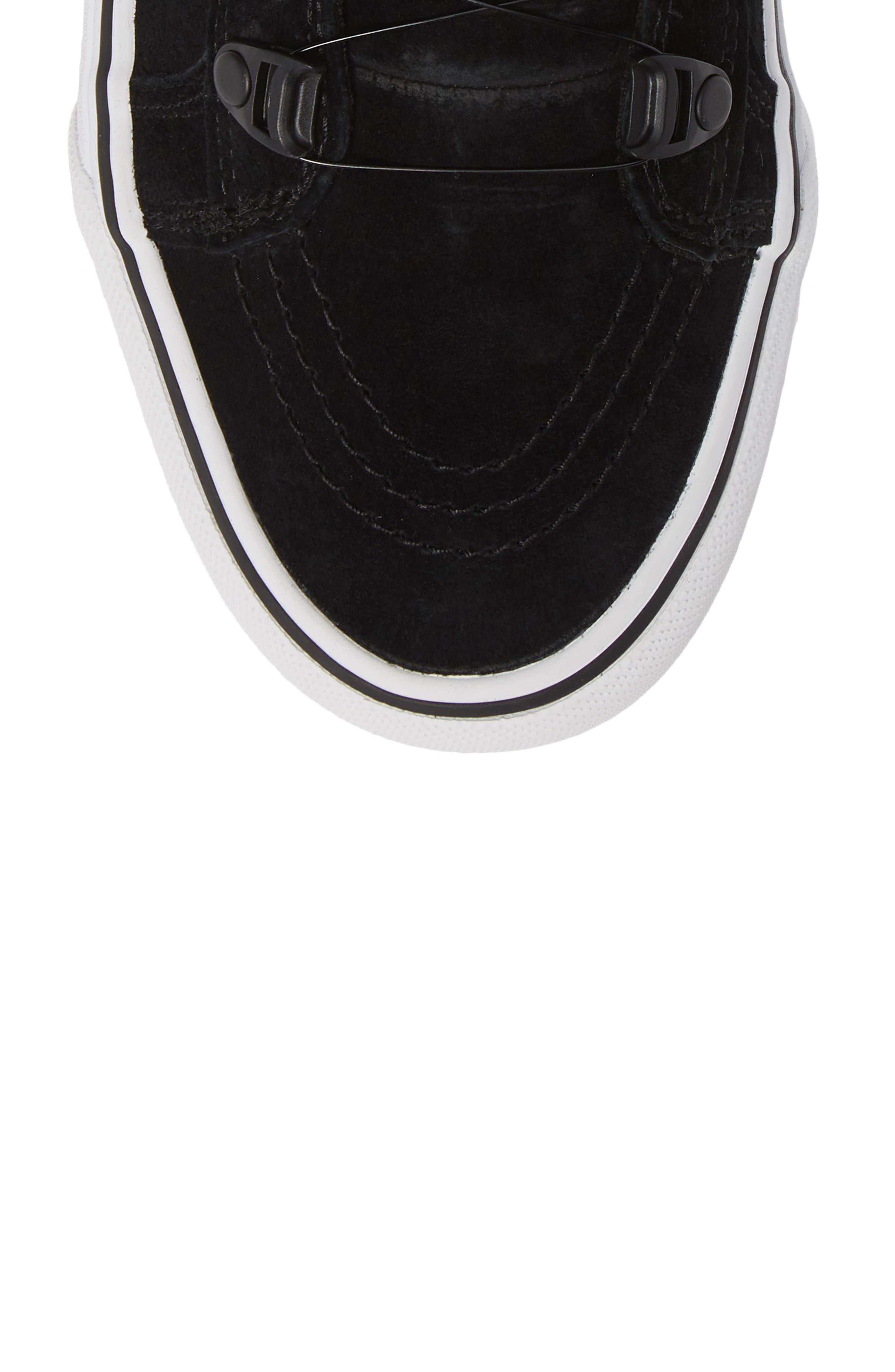 Sk8-Hi MTE Boa Sneaker,                             Alternate thumbnail 5, color,                             001