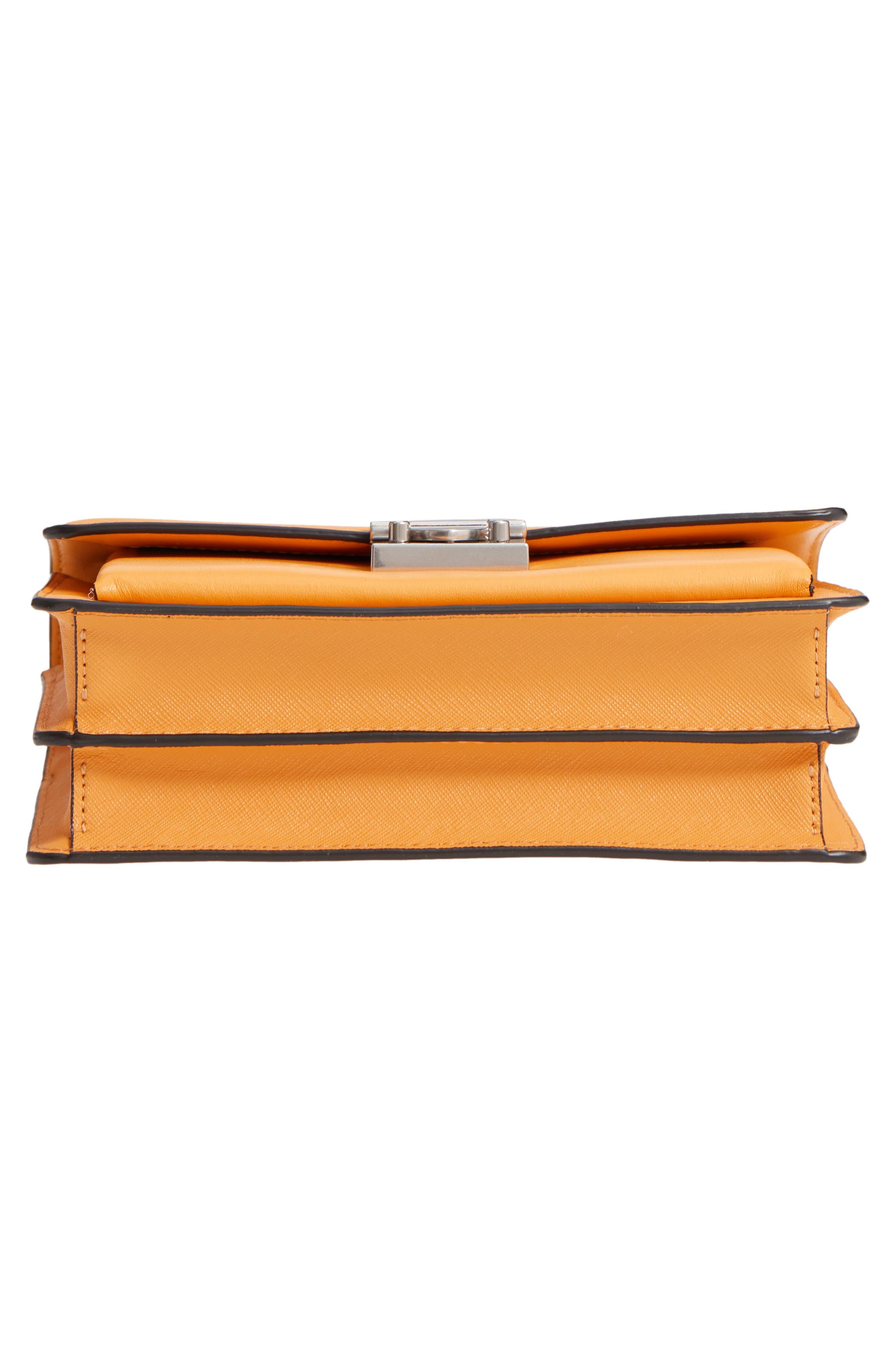 Medium Christy Leather Shoulder Bag,                             Alternate thumbnail 27, color,