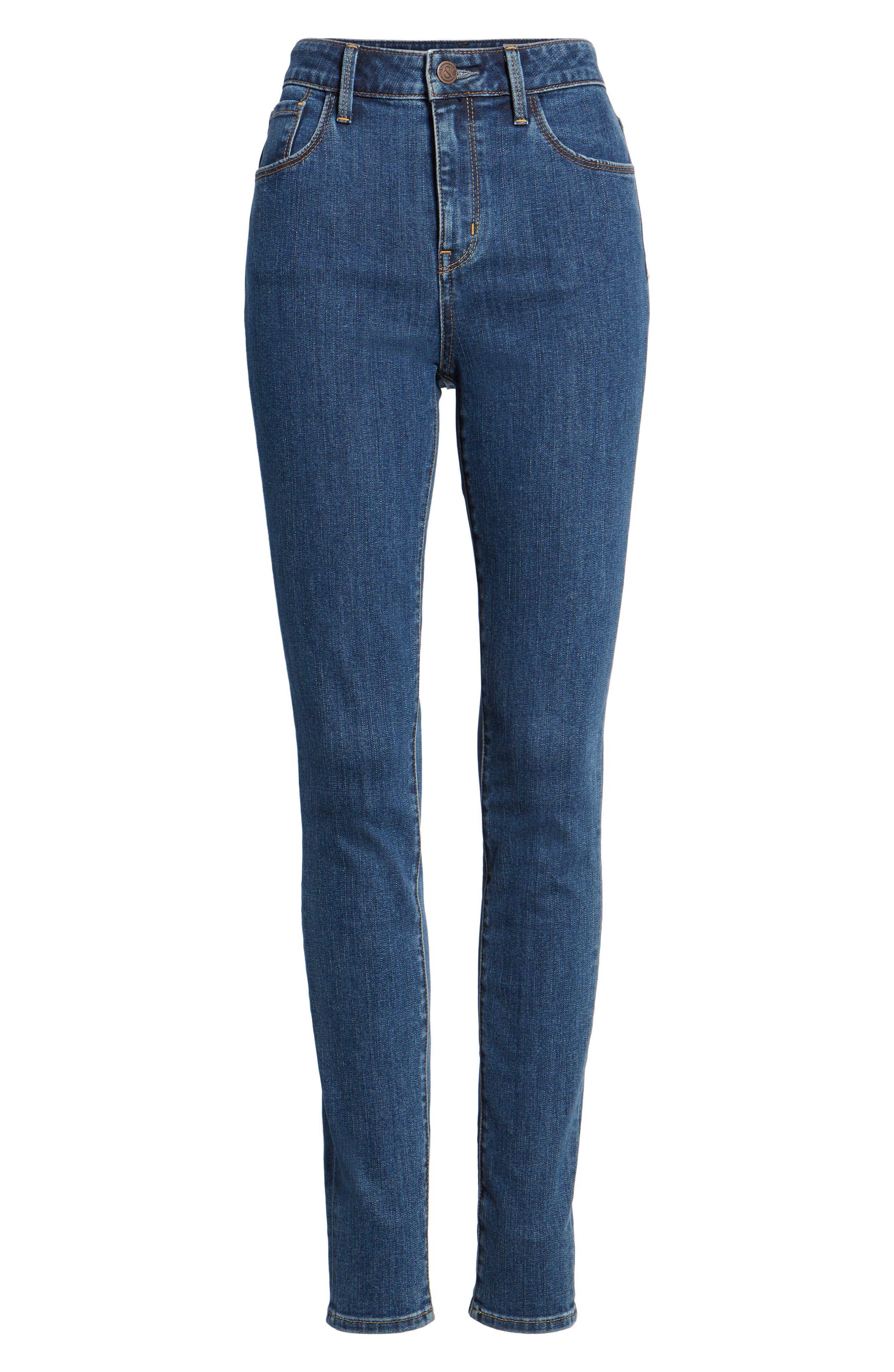 Charity High Waist Skinny Jeans,                             Alternate thumbnail 7, color,