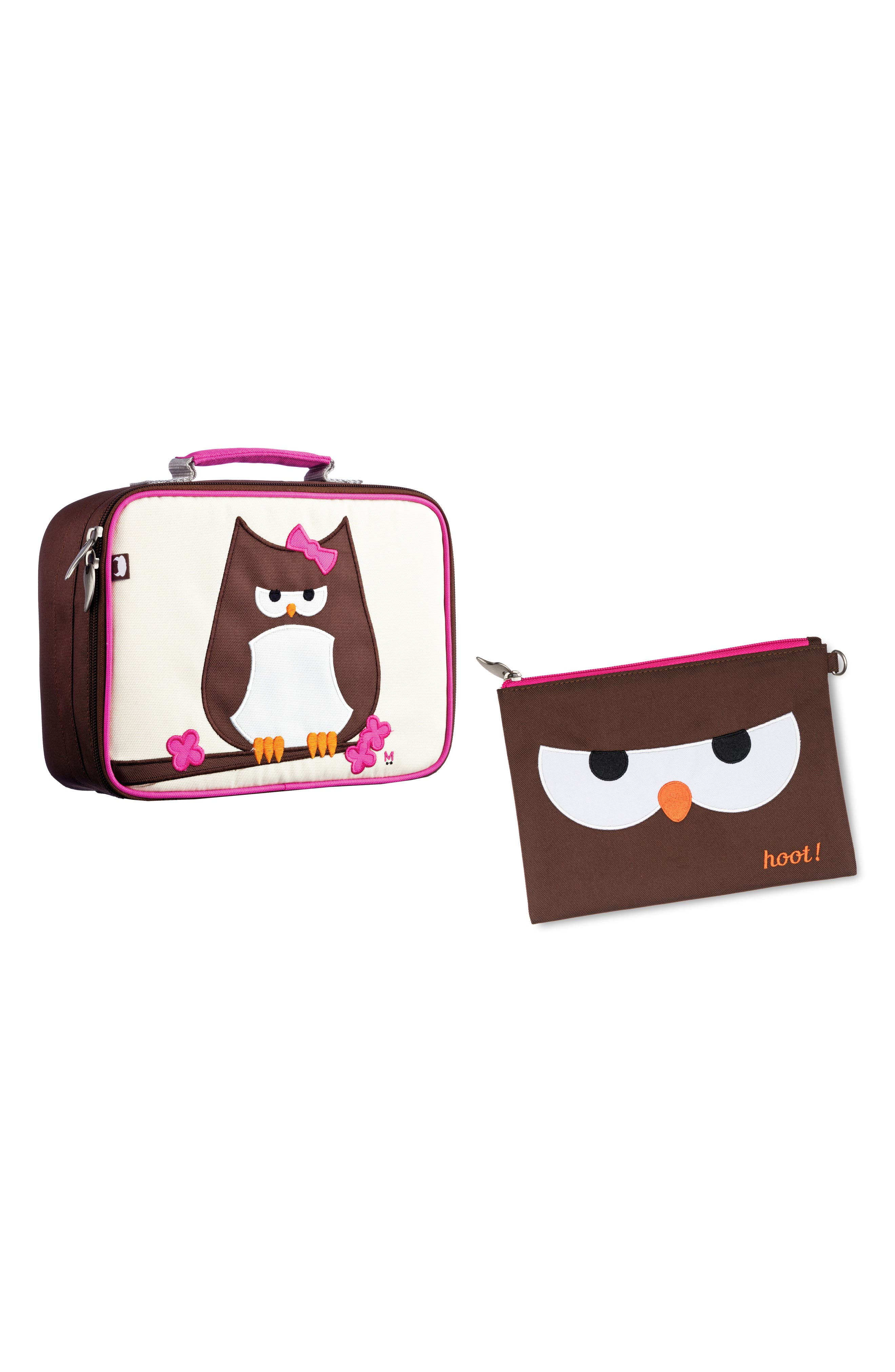 Lunch Box & Travel Pouch Set,                         Main,                         color,