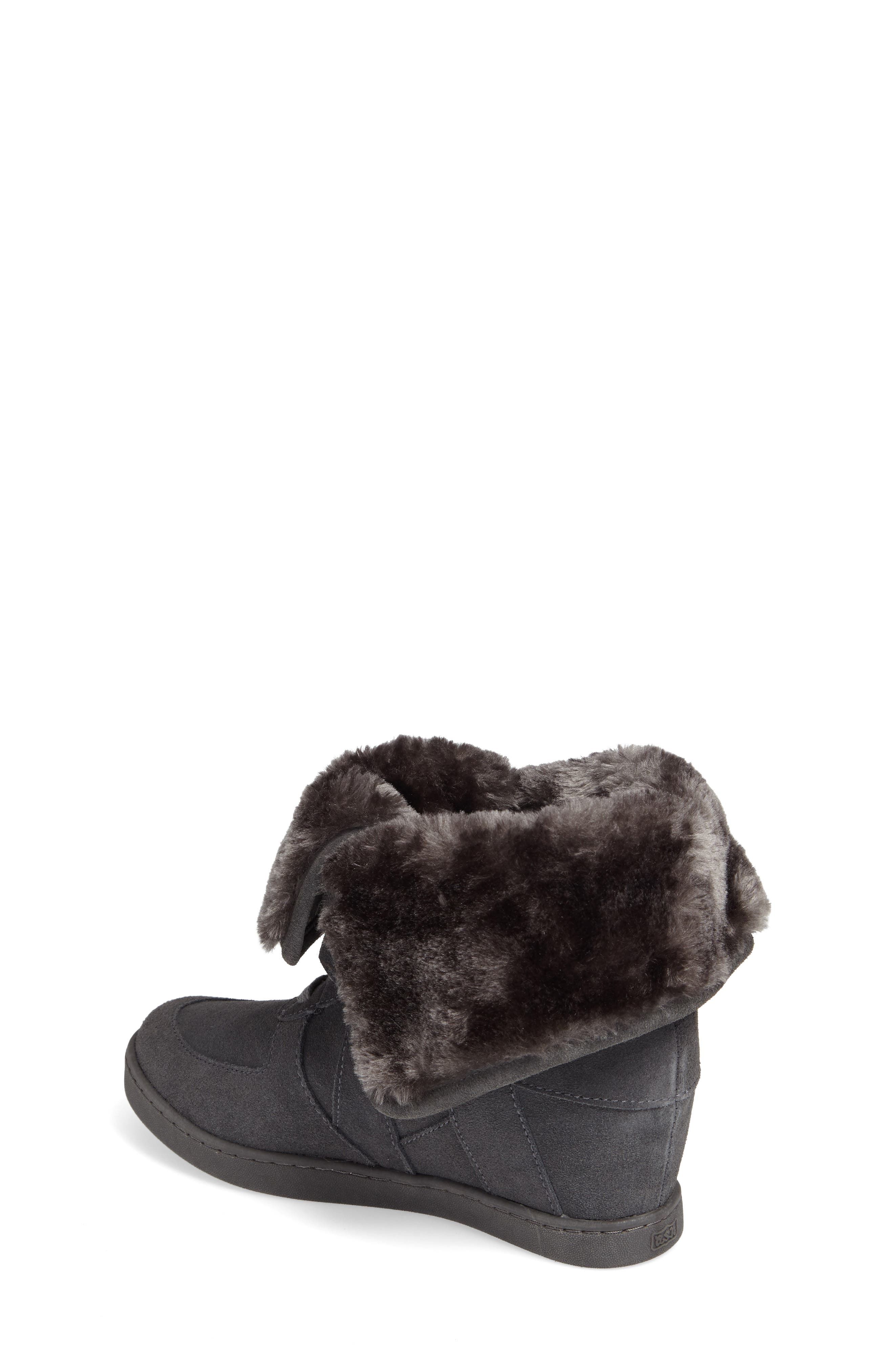 Boogie Beaver Faux Fur Cuffed Bootie,                             Alternate thumbnail 2, color,                             052