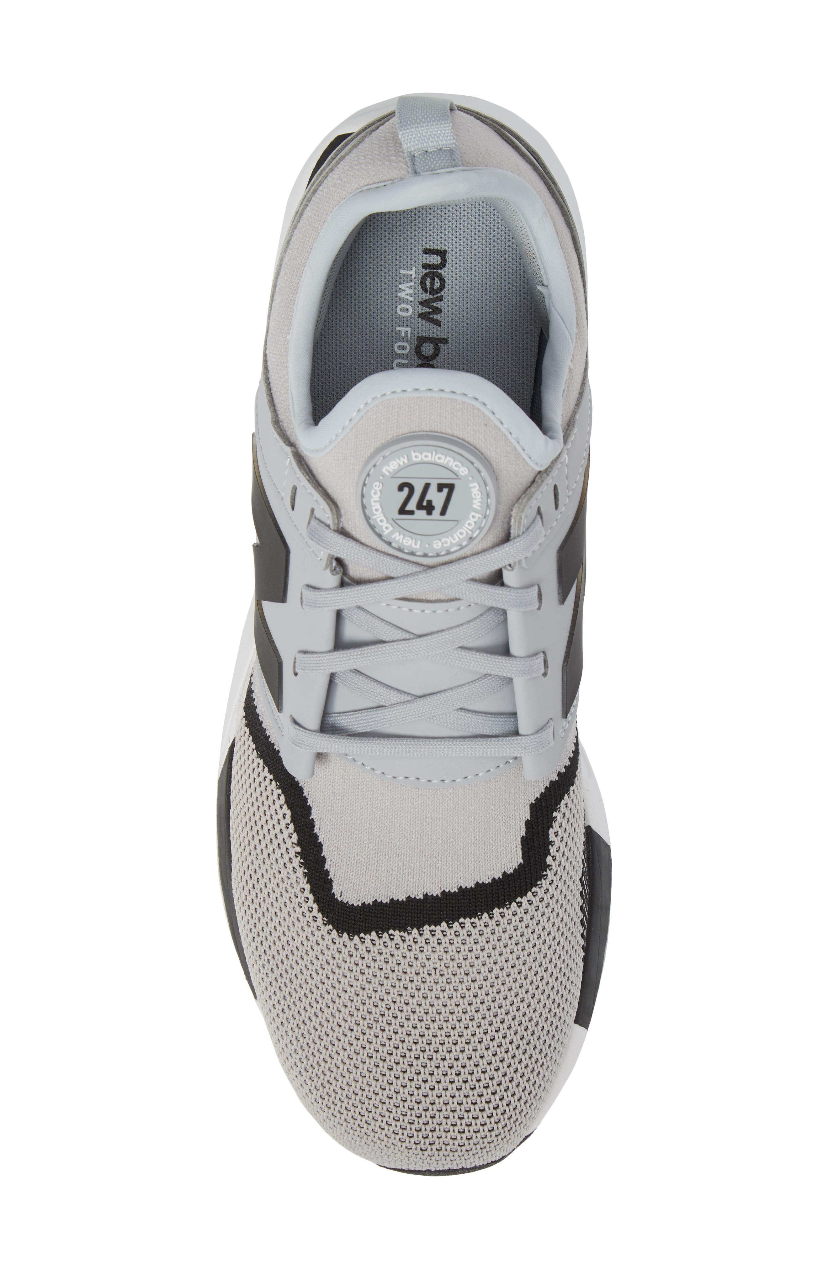 247 Sport Knit Sneaker,                             Alternate thumbnail 5, color,                             030