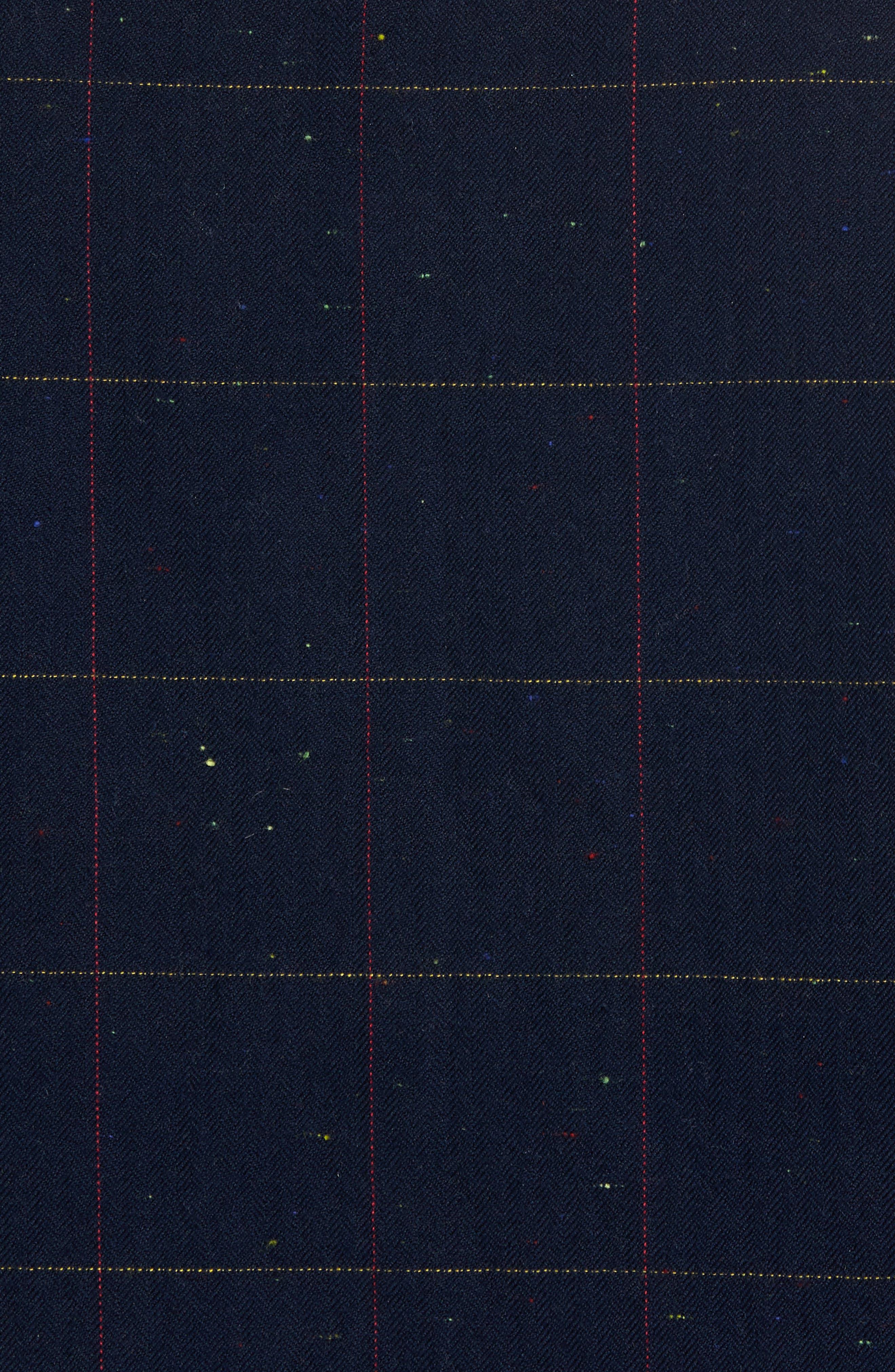 Herringbone Plaid Flannel Shirt,                             Alternate thumbnail 5, color,                             411