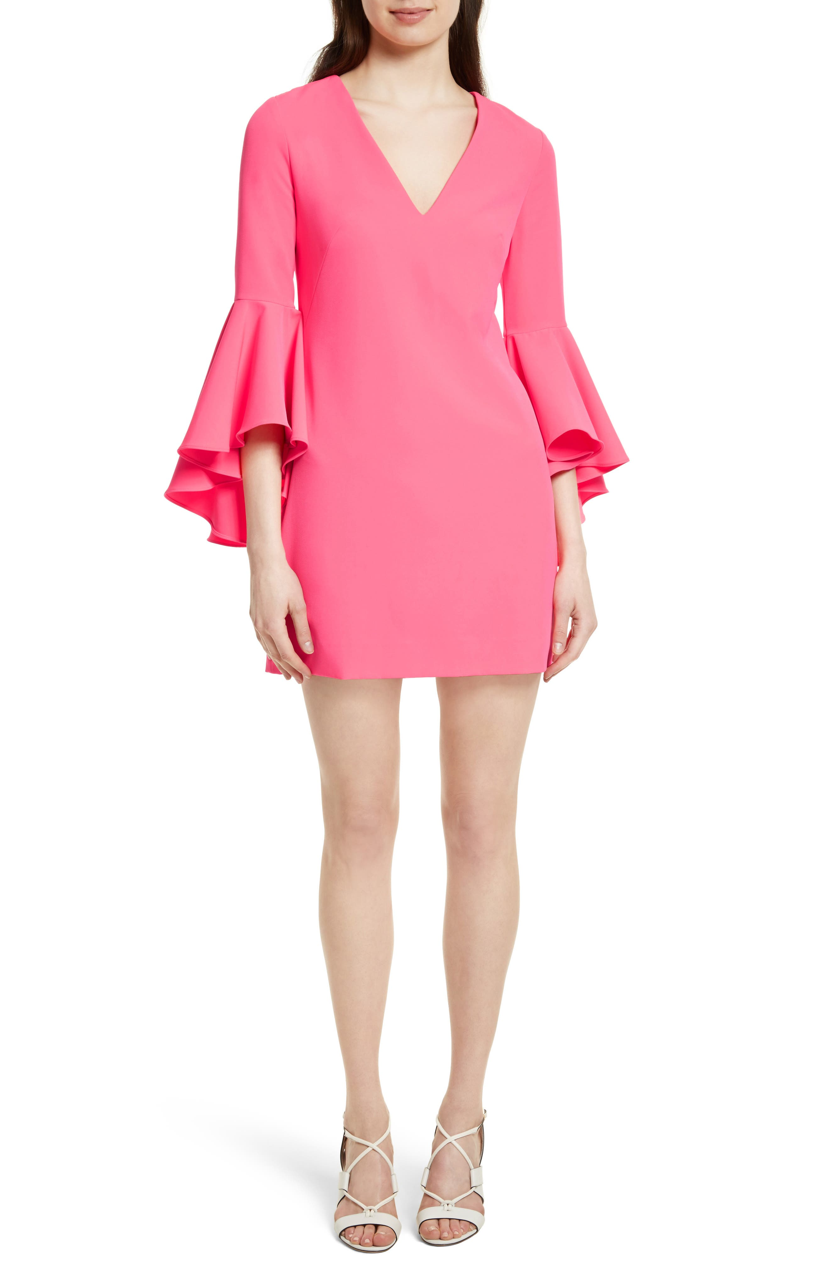 Nicole Bell Sleeve Dress,                             Main thumbnail 13, color,