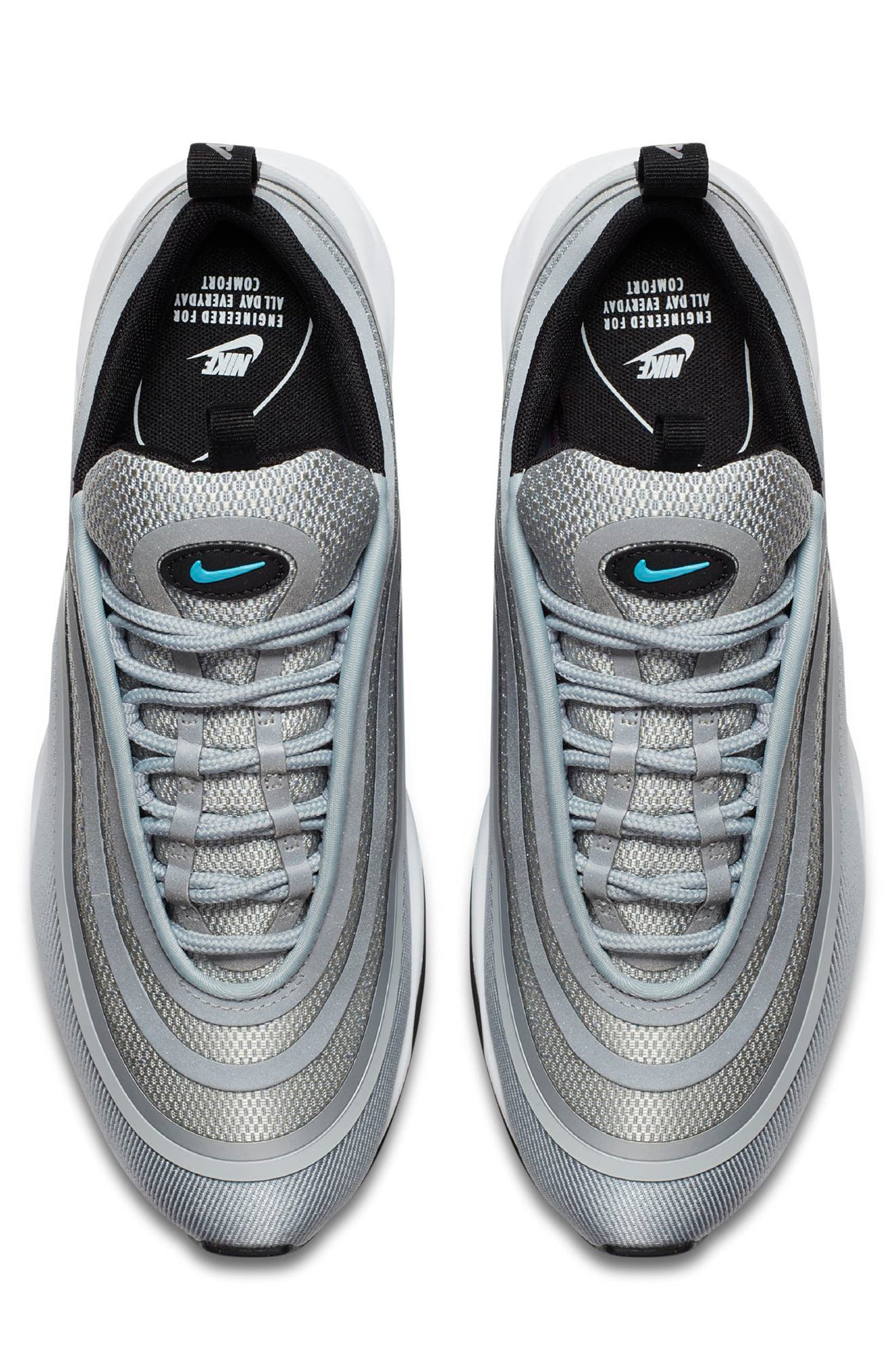 Air Max 97 Ultralight 2017 Sneaker,                             Alternate thumbnail 4, color,                             020